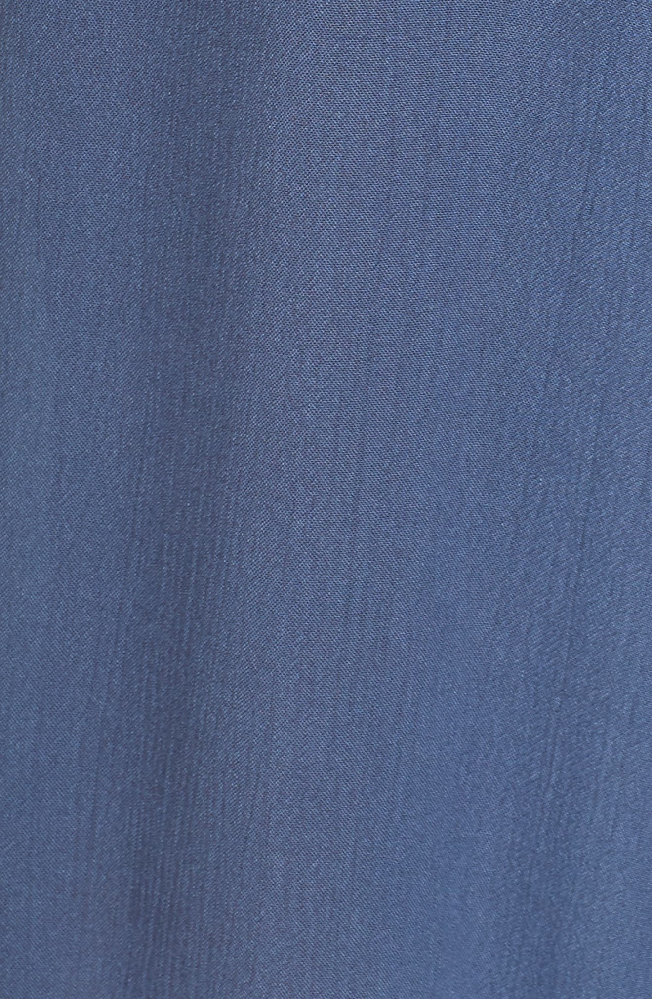 Strapless Cover-Up Jumpsuit,                             Alternate thumbnail 5, color,