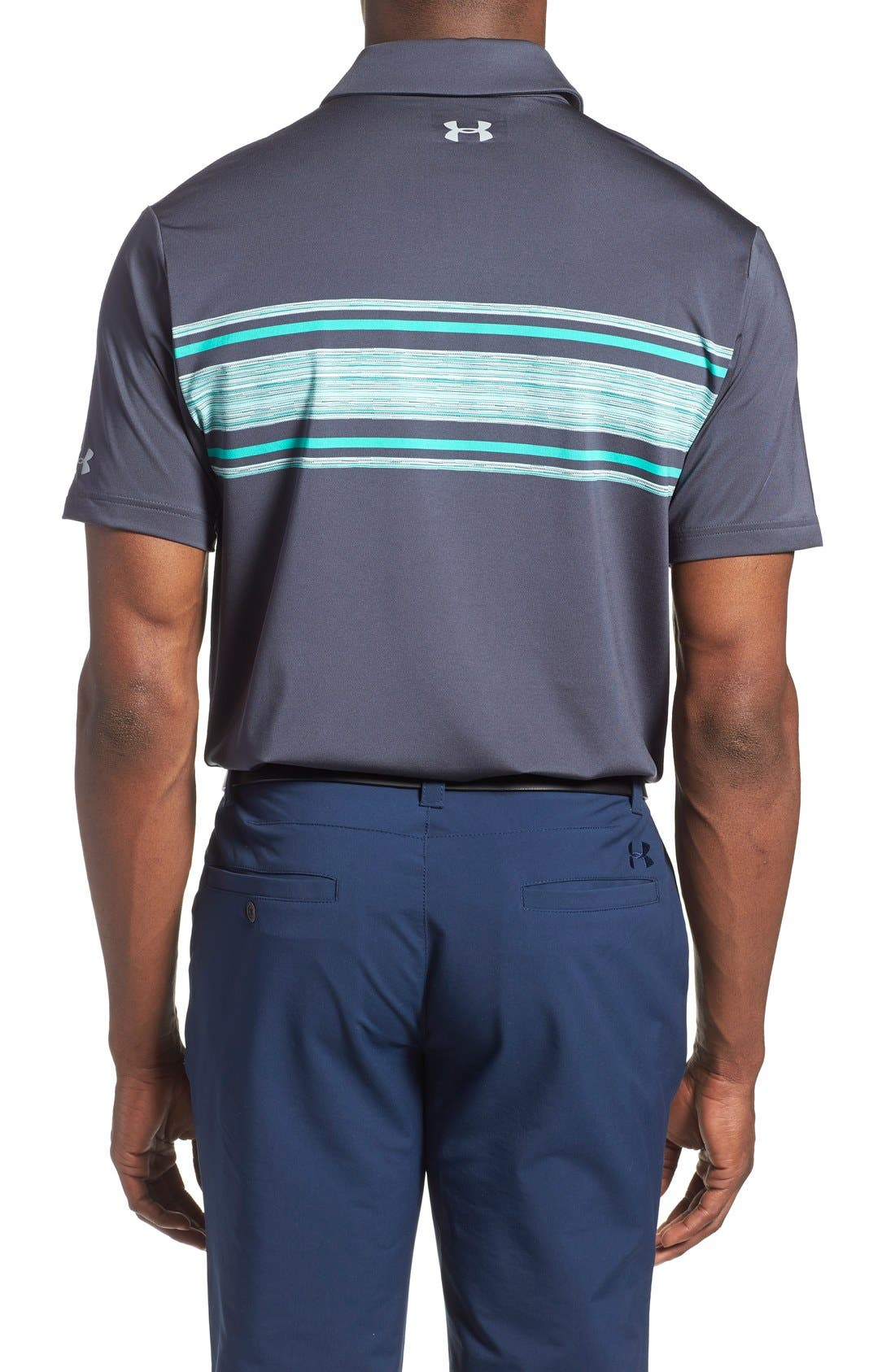 'Playoff' Loose Fit Short Sleeve Polo,                             Alternate thumbnail 243, color,
