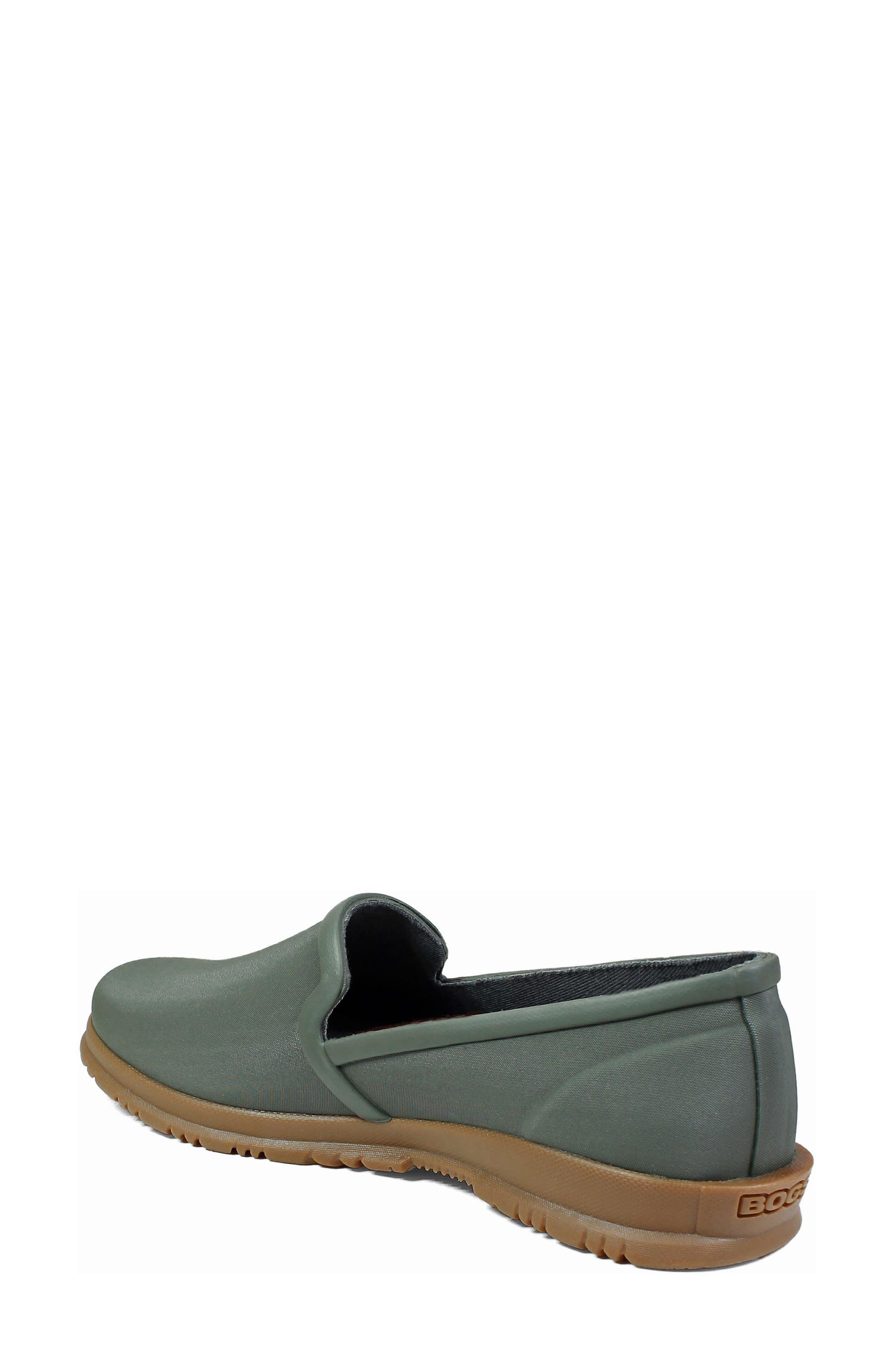 BOGS,                             Sweetpea Waterproof Slip-On Sneaker,                             Alternate thumbnail 2, color,                             SAGE