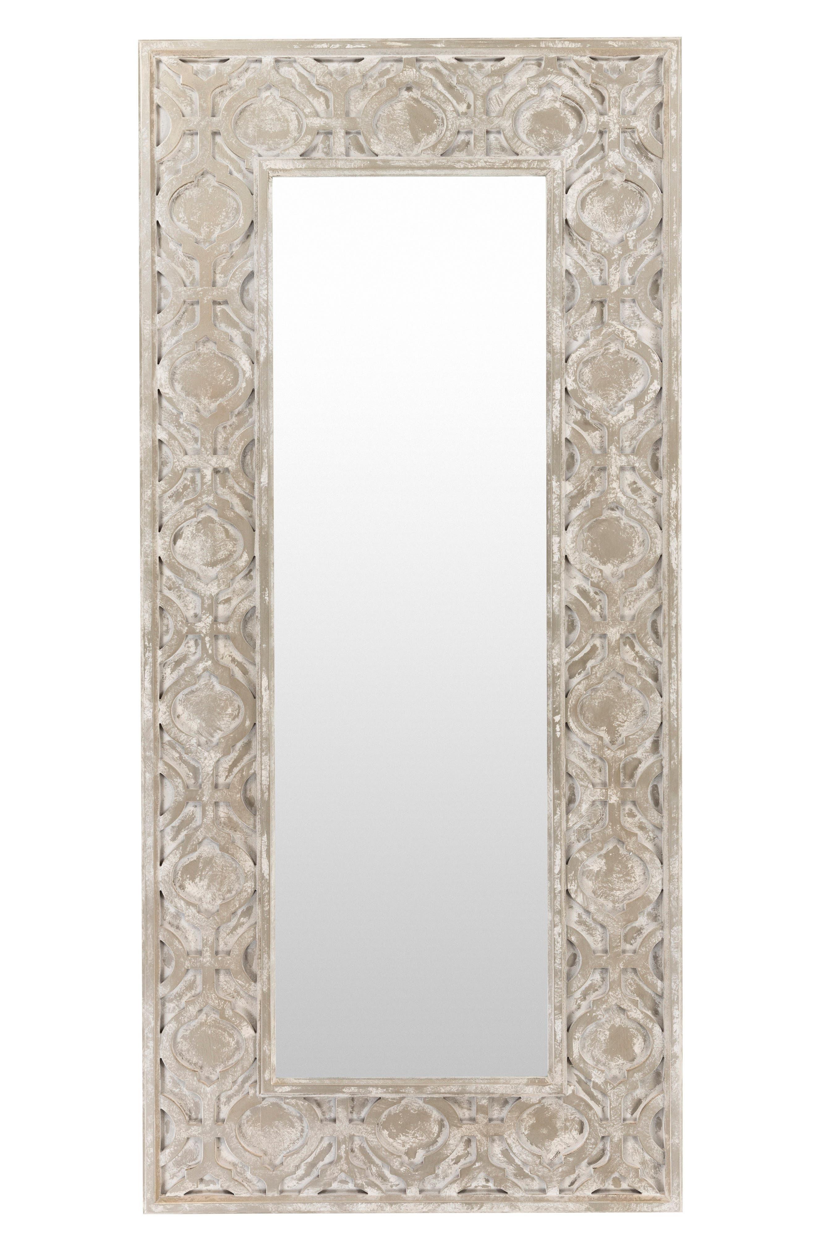 White Wash Mirror,                             Main thumbnail 1, color,                             250