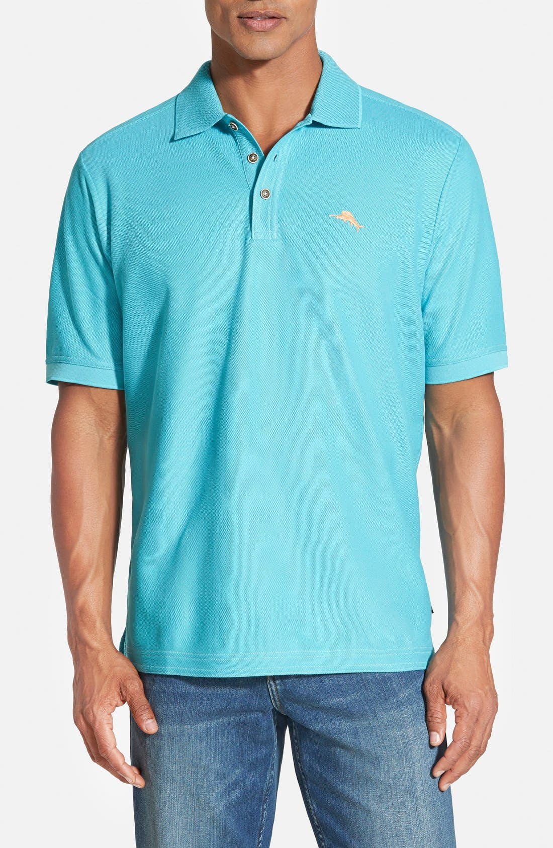 'The Emfielder' Original Fit Piqué Polo,                             Main thumbnail 61, color,