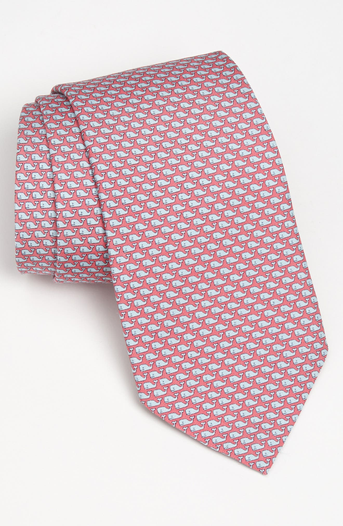 Whale Silk Tie,                         Main,                         color, 670
