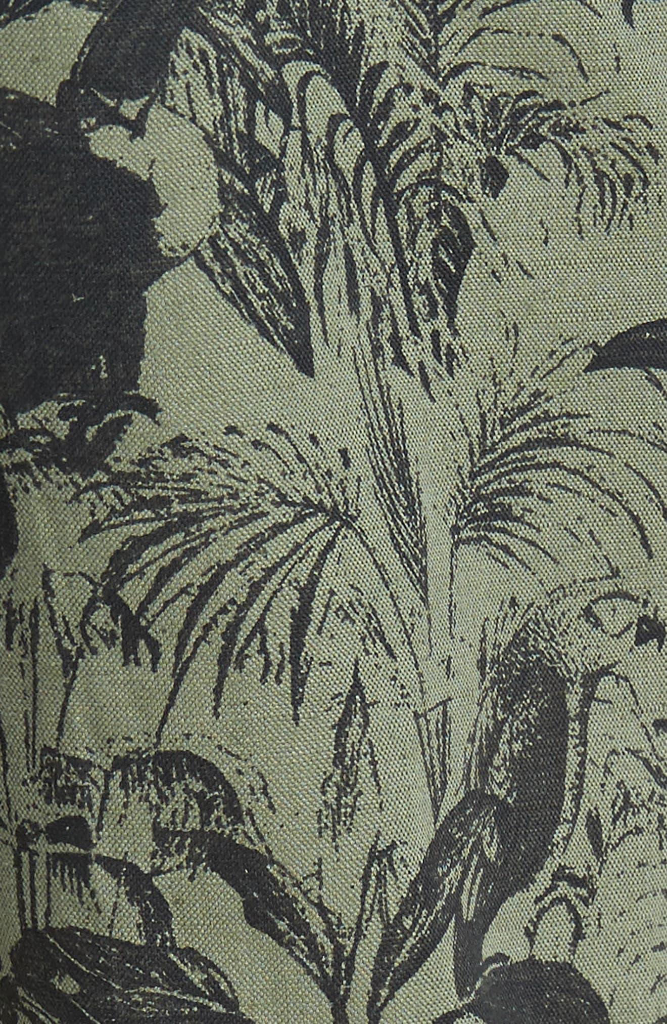 Foundation Print Slim Fit Trousers,                             Alternate thumbnail 5, color,                             300