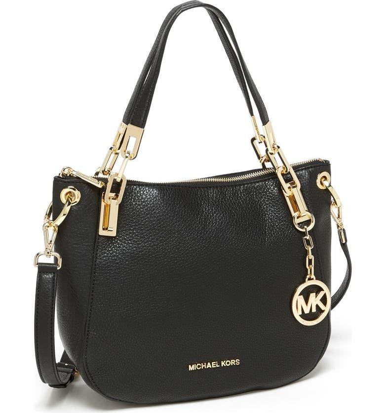 Brooke Medium Leather Shoulder Bag