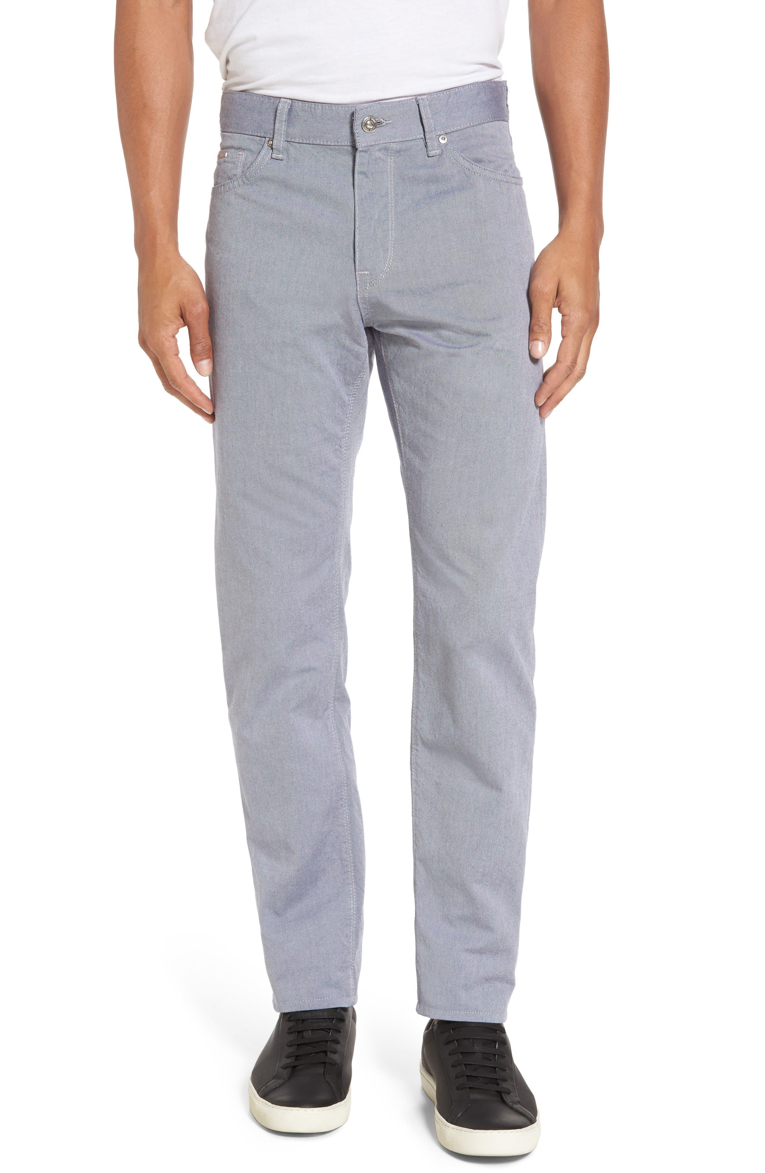Slim Fit Twill Pants,                         Main,                         color,