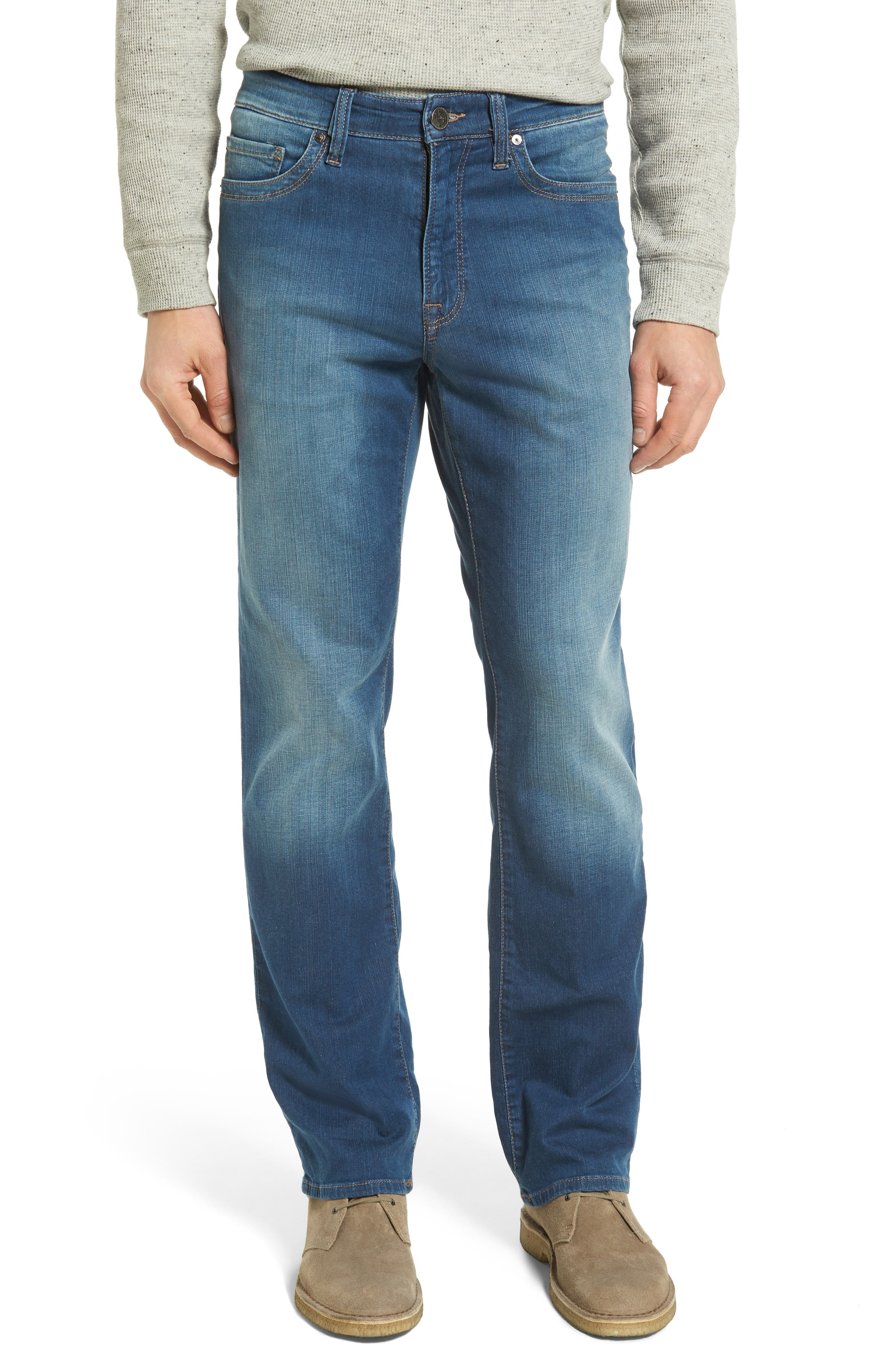 34 HERITAGE 'Charisma' Classic Relaxed Fit Jeans, Main, color, MID CASHMERE