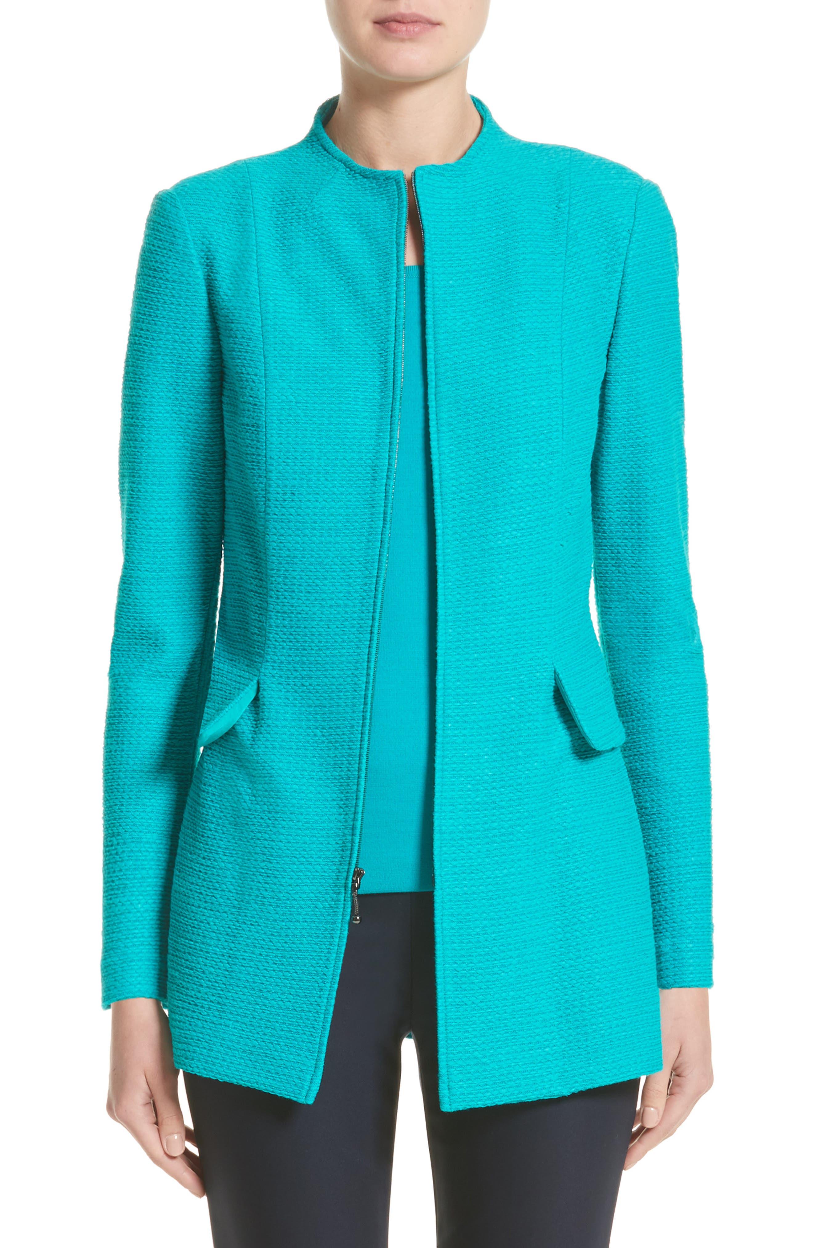 Sheen Tape Knit Jacket,                         Main,                         color, 440