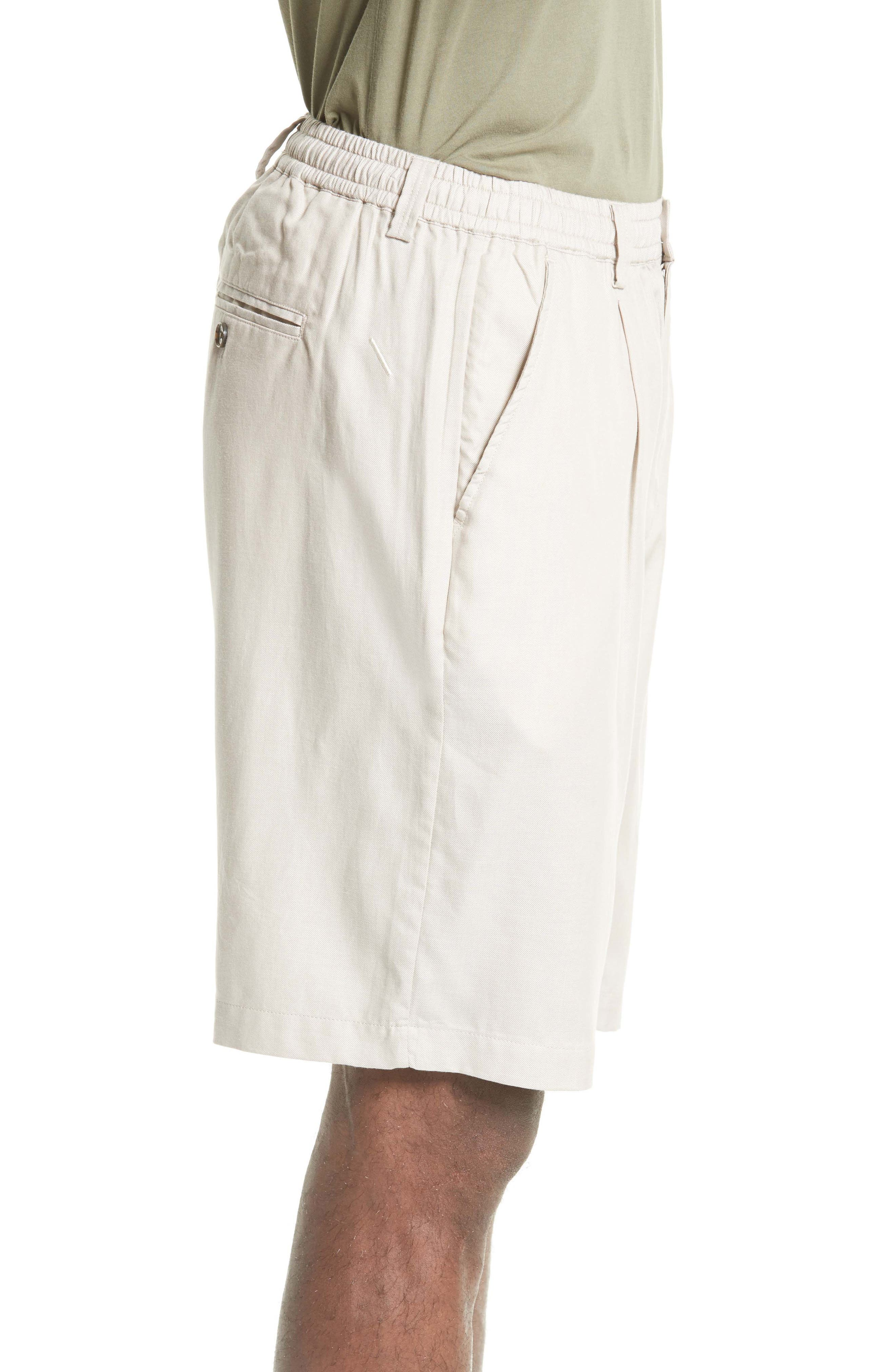 Keigo Pleat Front Shorts,                             Alternate thumbnail 3, color,                             275