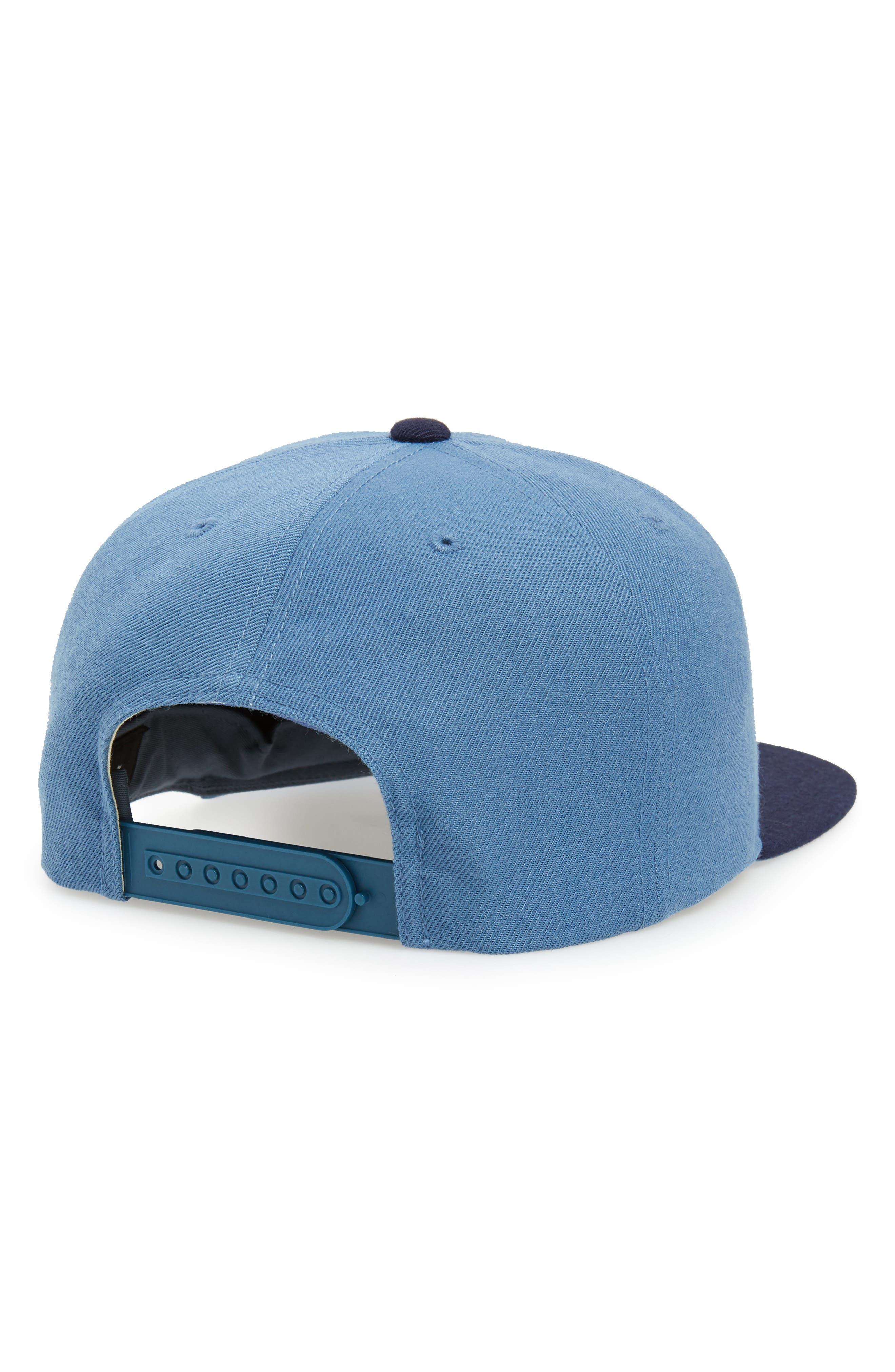 'Oath III' Snapback Cap,                             Alternate thumbnail 2, color,                             GREY BLUE/ NAVY
