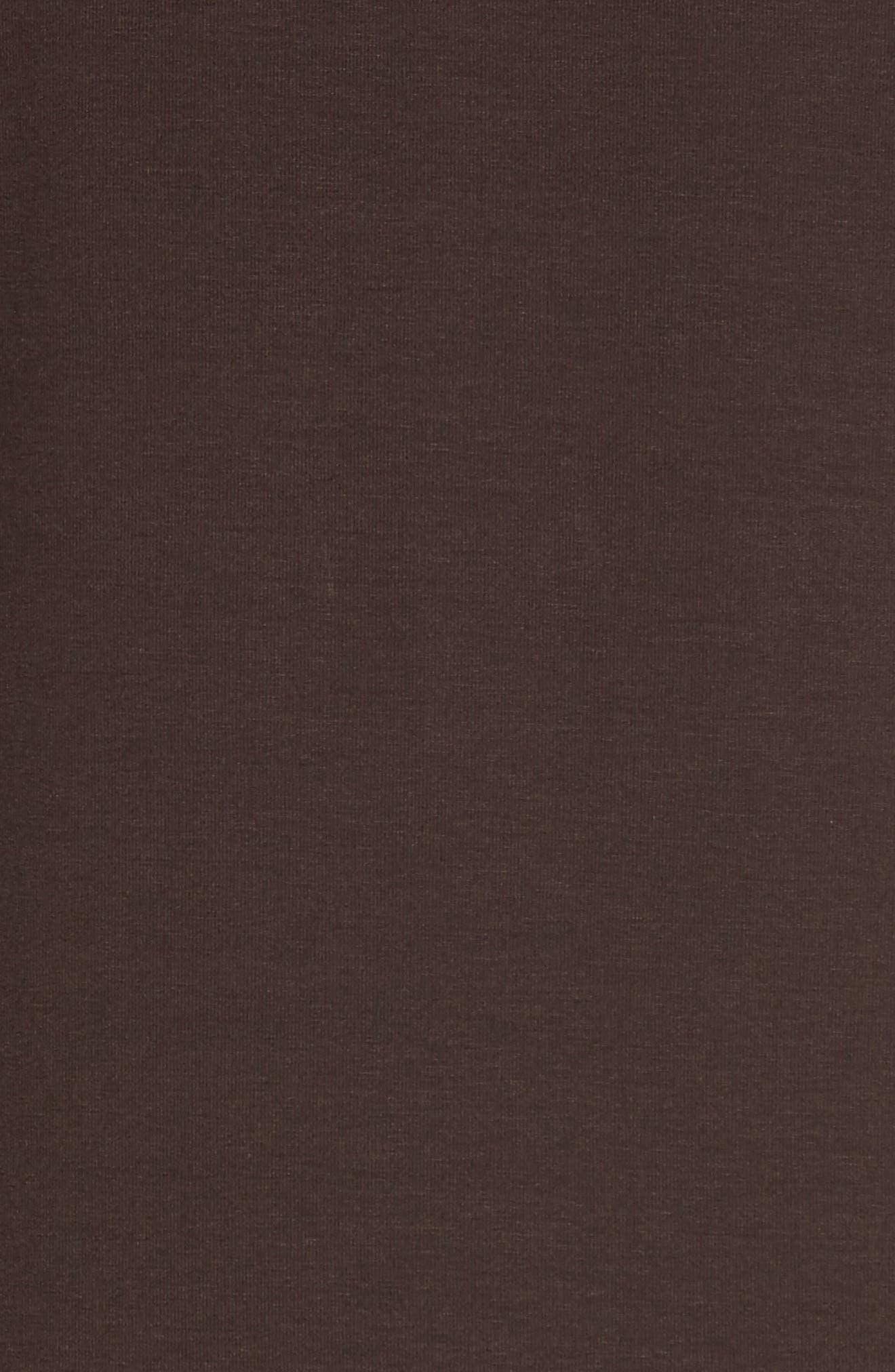 Bateau Neck Asymmetrical Jersey Tunic,                             Alternate thumbnail 5, color,                             011