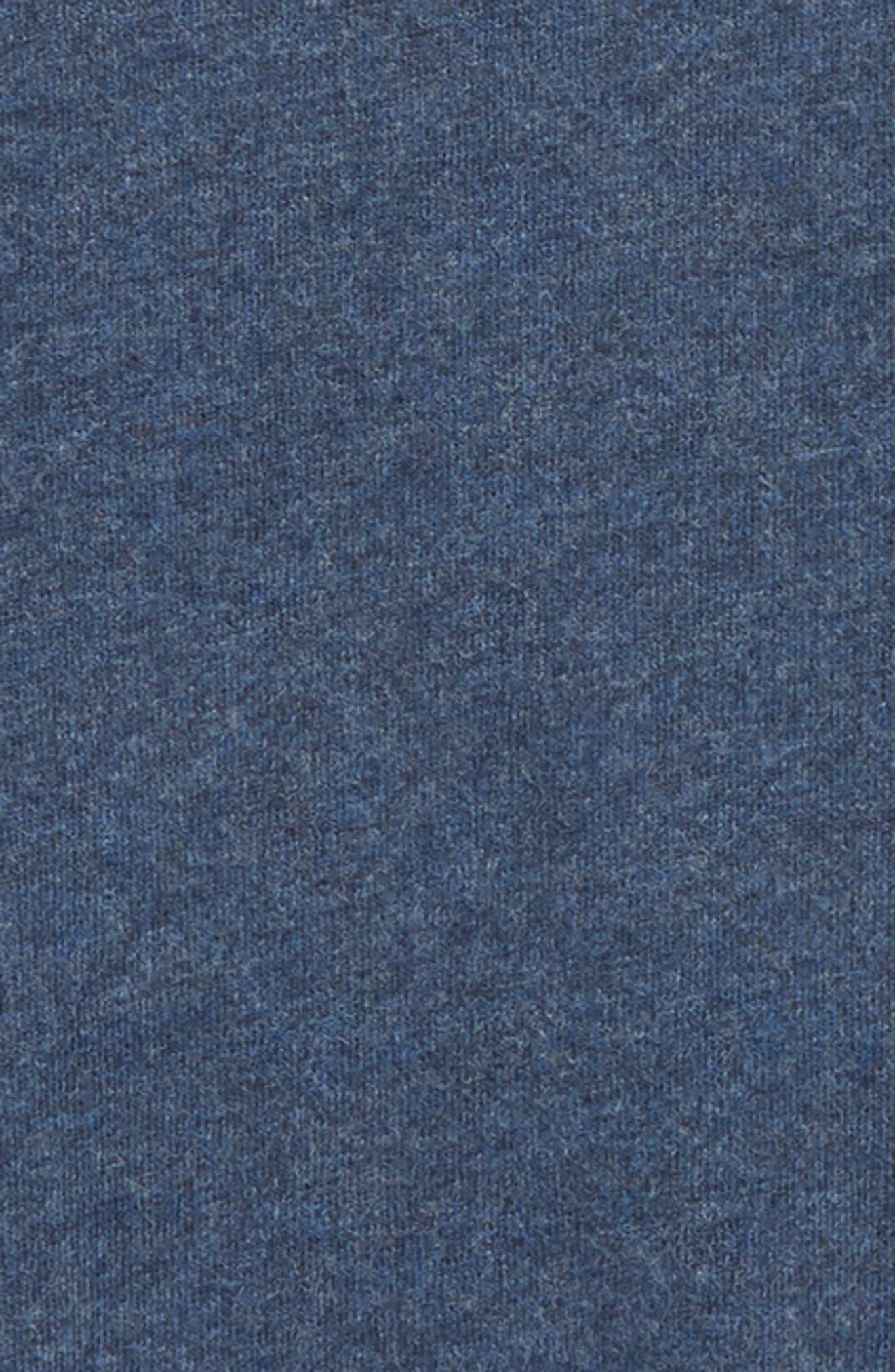 Supersoft Long Sleeve T-Shirt,                             Alternate thumbnail 2, color,                             NAVY MARL