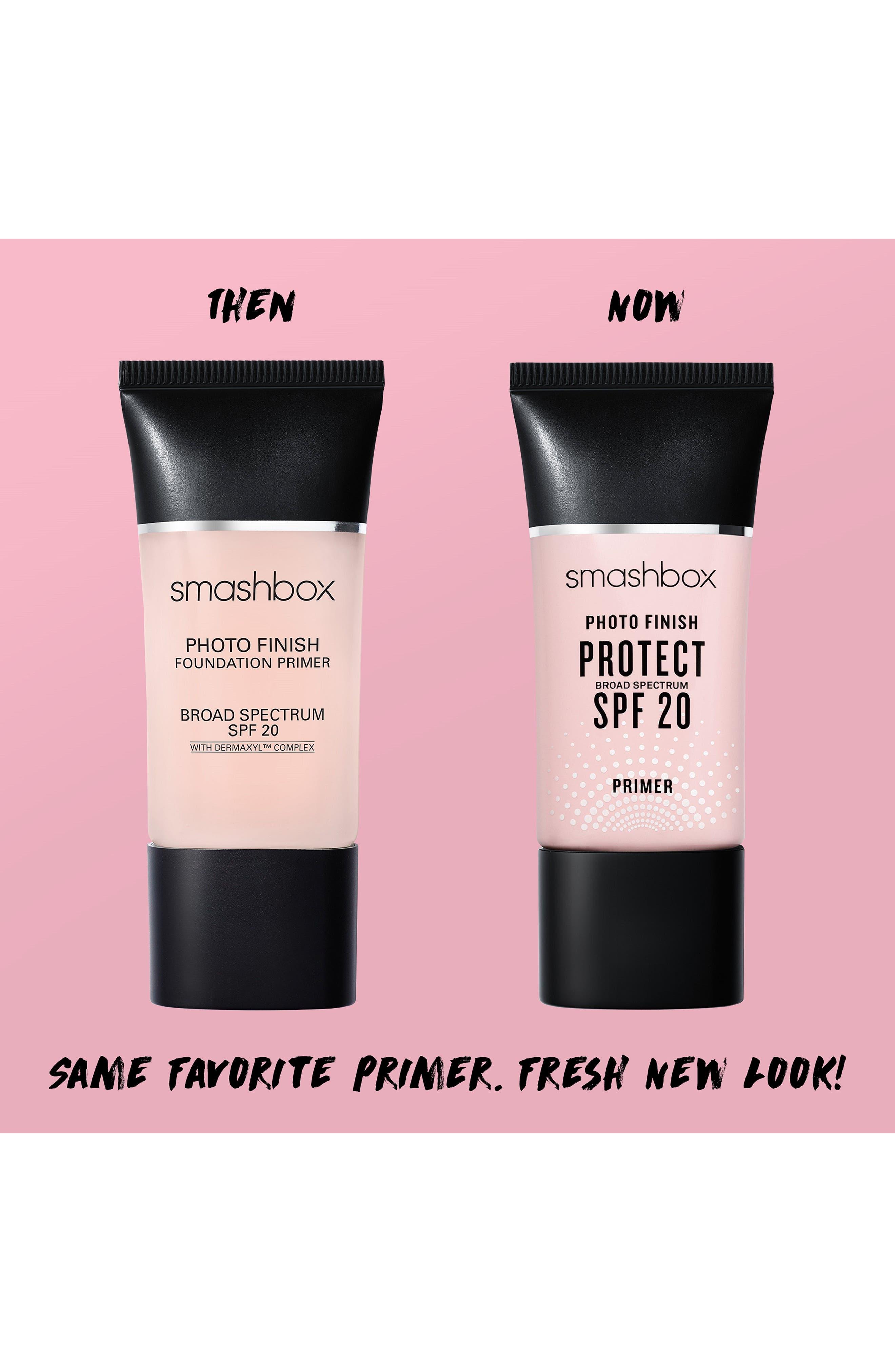SMASHBOX,                             Photo Finish Protect SPF 20 Primer,                             Alternate thumbnail 3, color,                             NO COLOR
