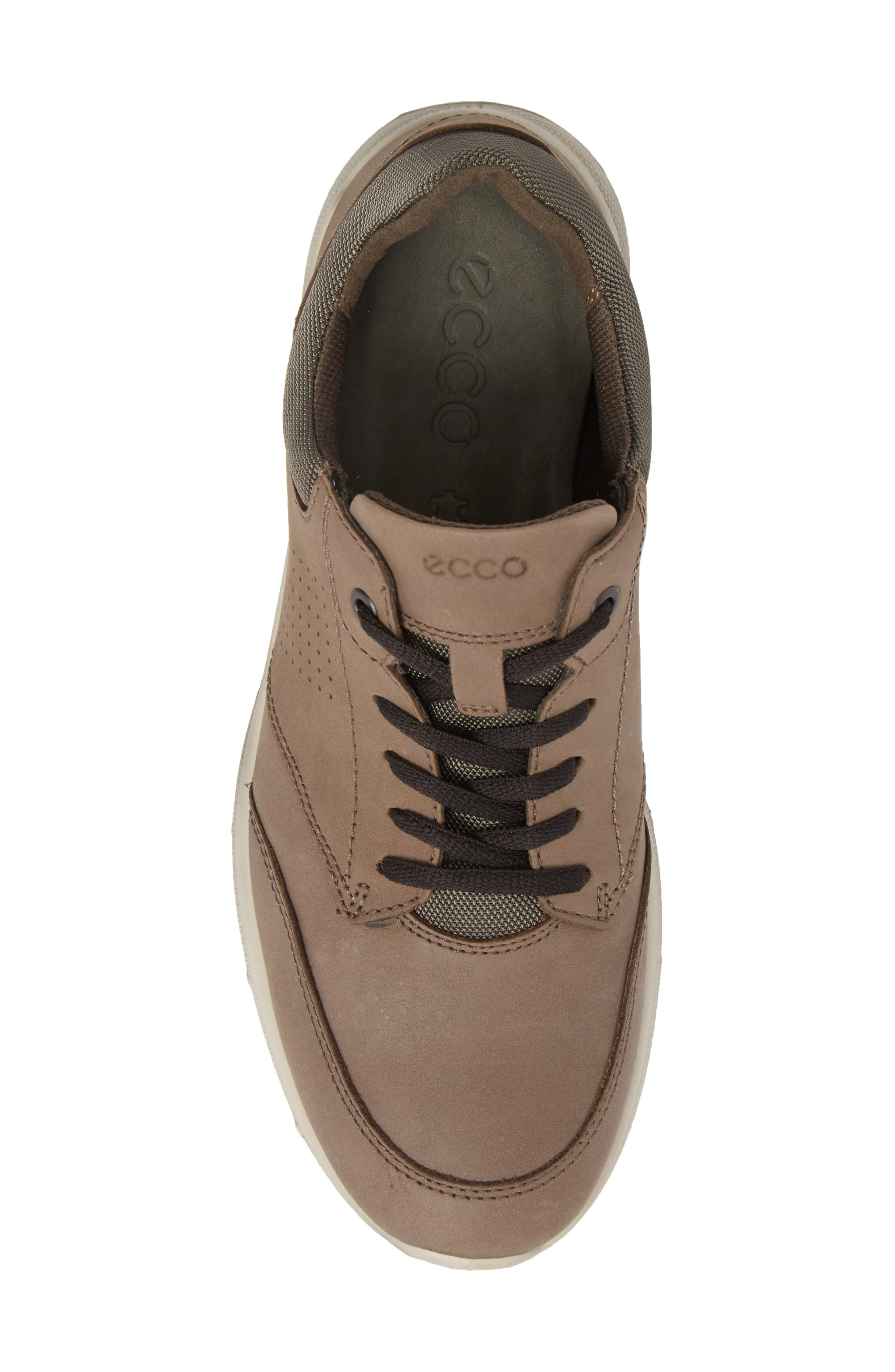 Irving Sneaker,                             Alternate thumbnail 5, color,                             DARK CLAY LEATHER