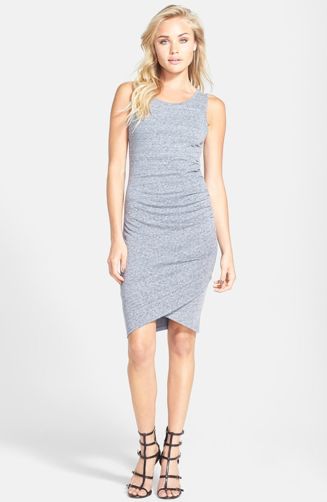 Ruched Body-Con Tank Dress,                             Main thumbnail 22, color,