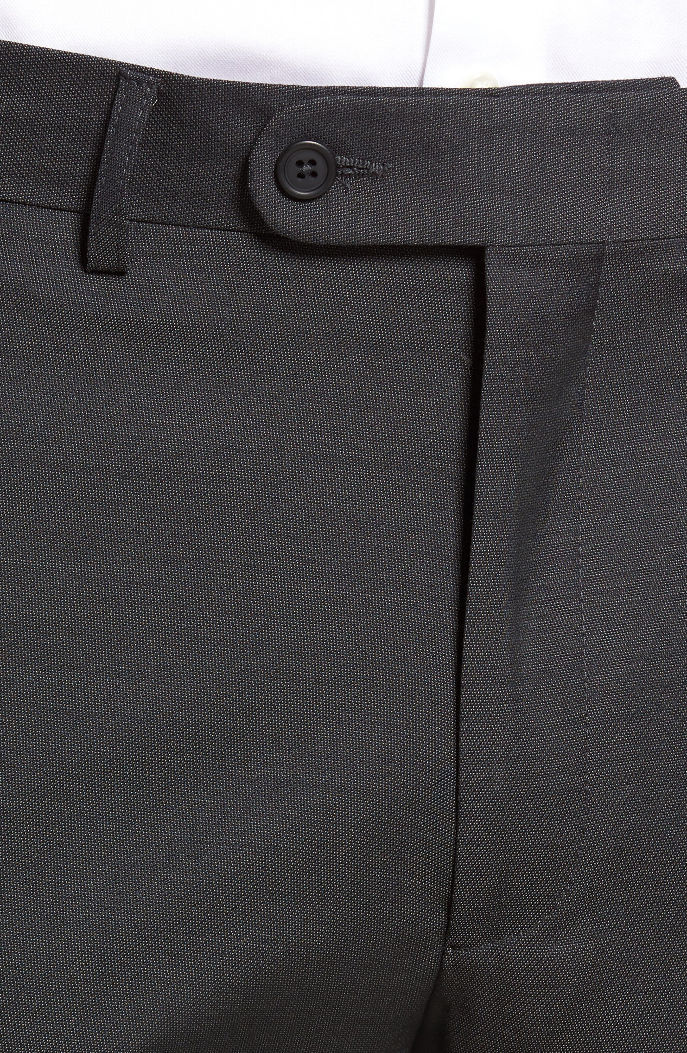 Pin Dot Wool Trousers,                             Alternate thumbnail 9, color,