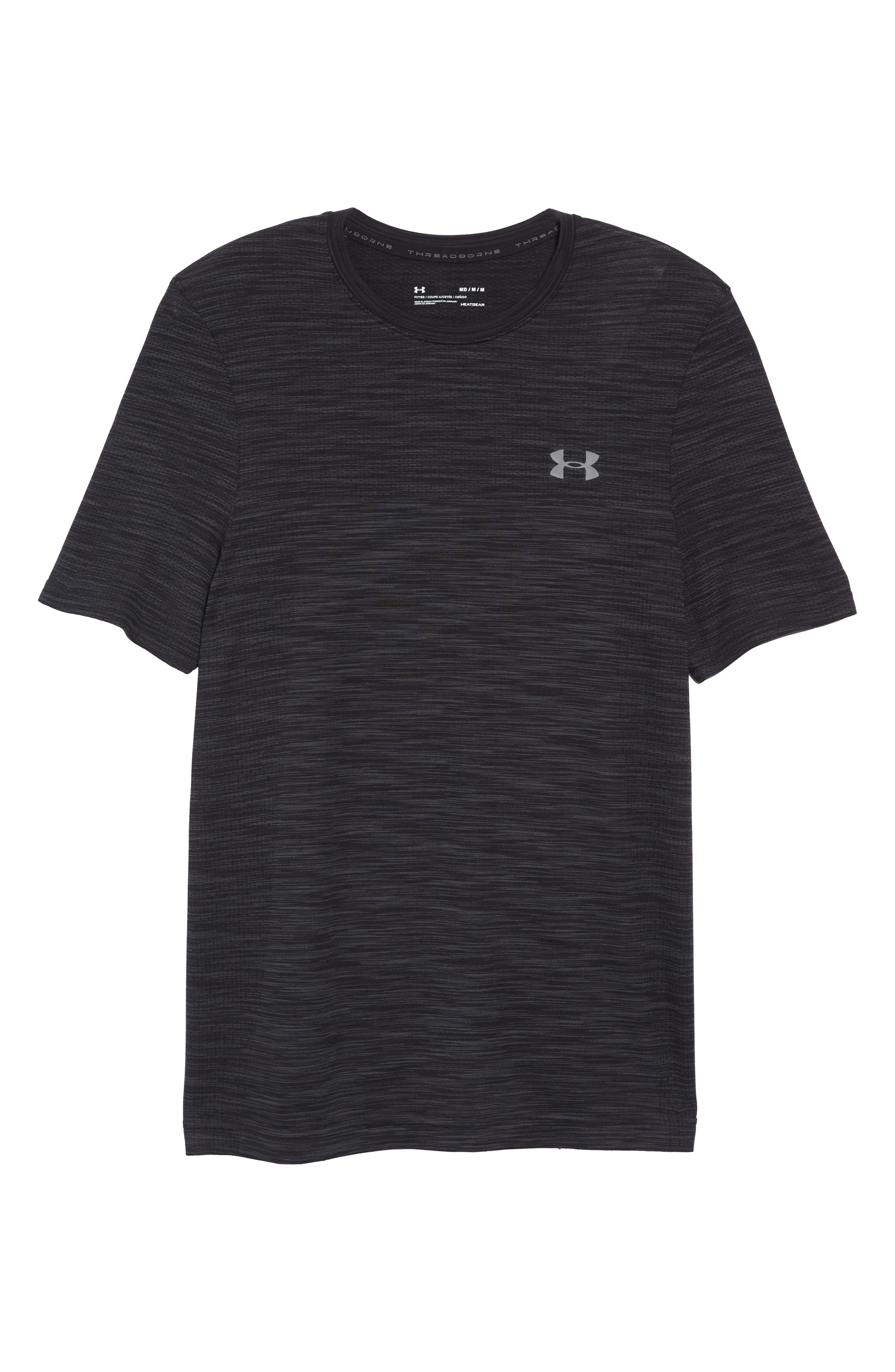 Siphon Performance T-Shirt,                             Alternate thumbnail 6, color,                             BLACK
