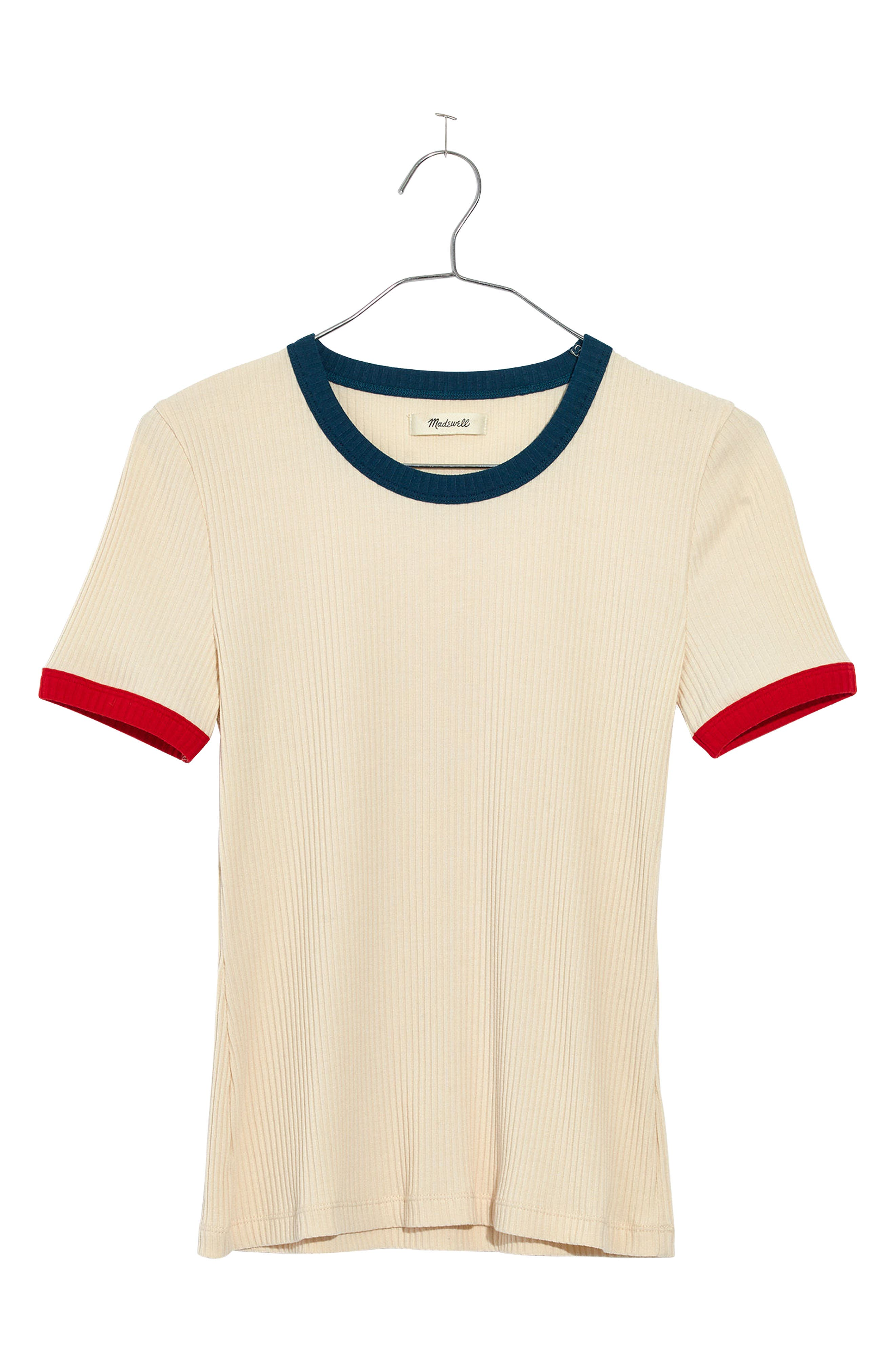 Colorblock Ringer Tee,                             Alternate thumbnail 4, color,                             250