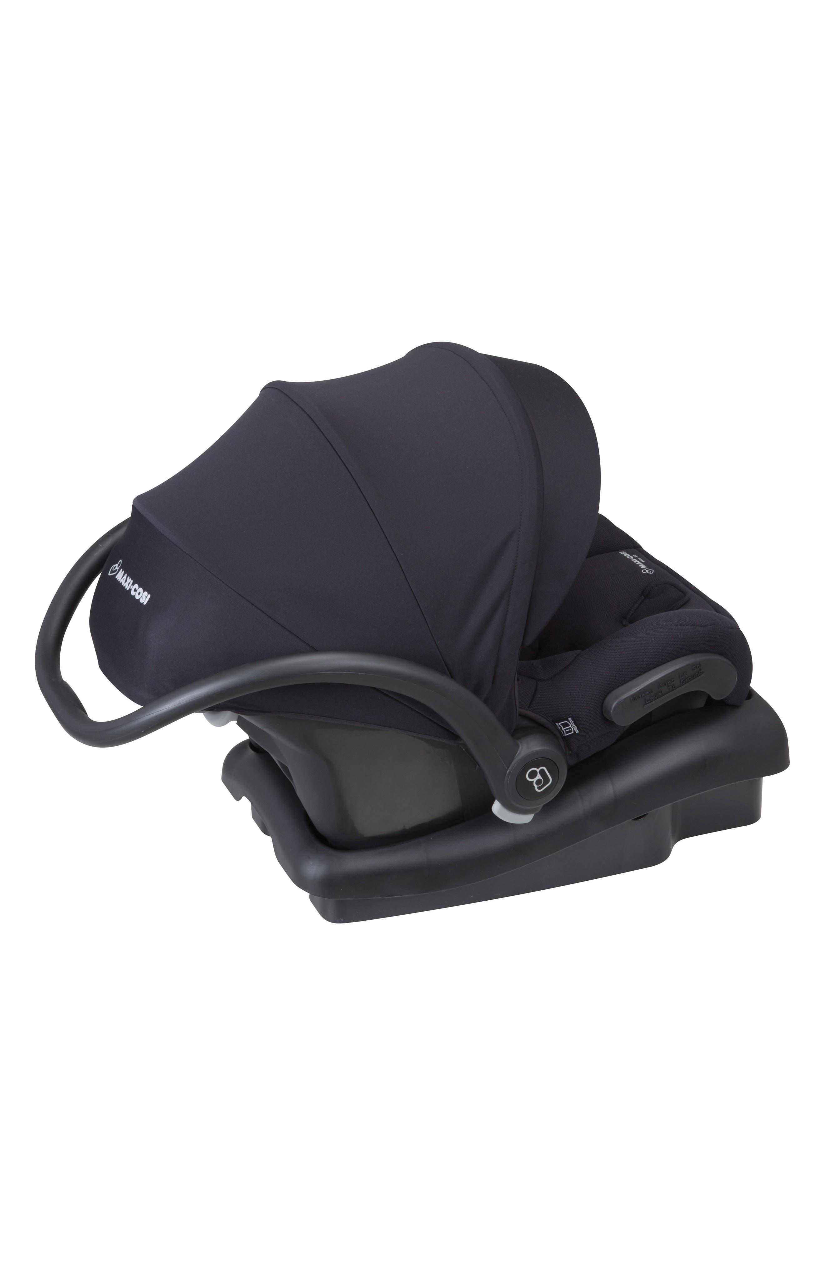 Mico 30 Infant Car Seat,                             Alternate thumbnail 5, color,                             NIGHT BLACK