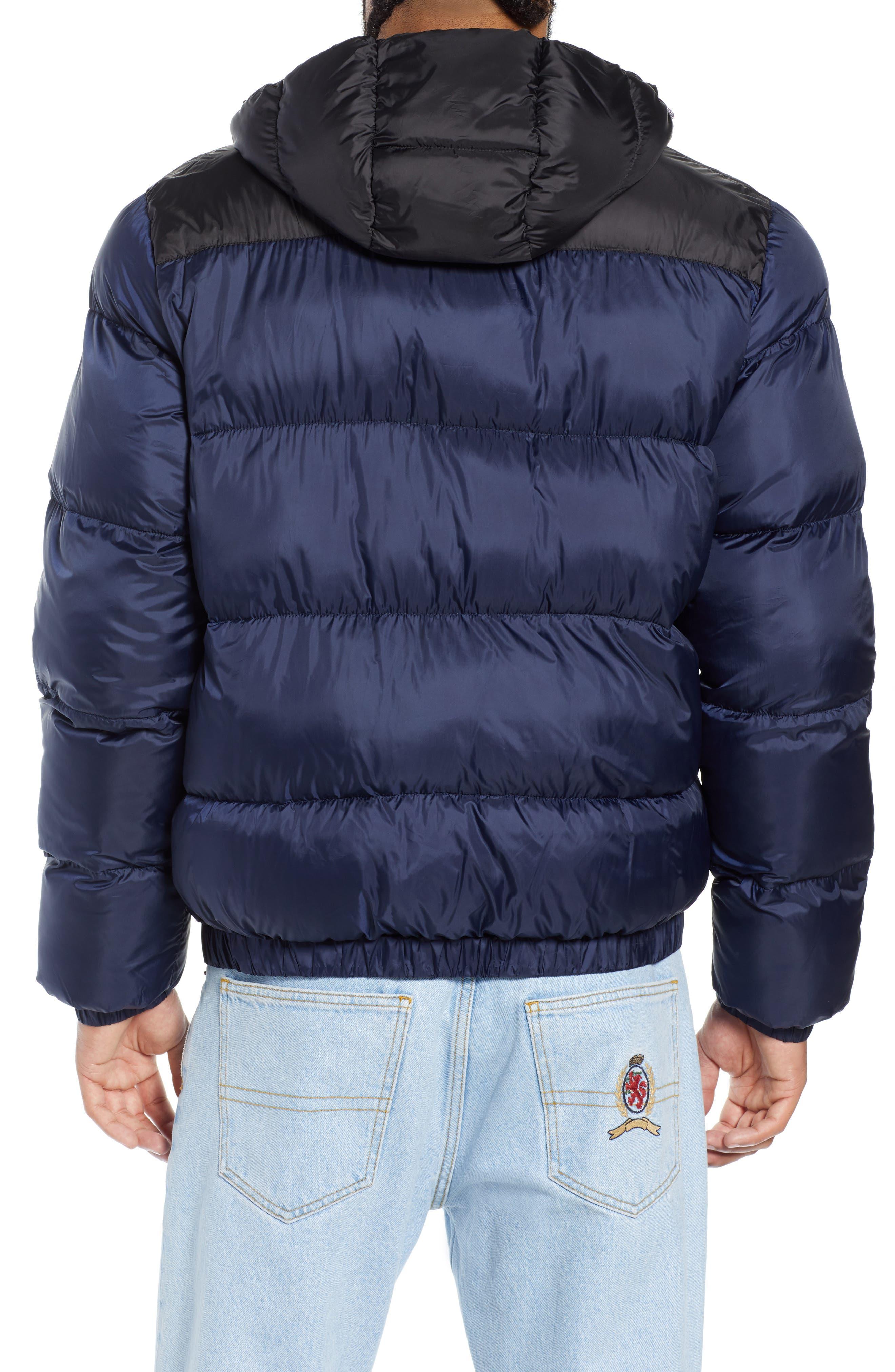 Classics Hooded Jacket,                             Alternate thumbnail 2, color,                             BLACK IRIS / TOMMY BLACK