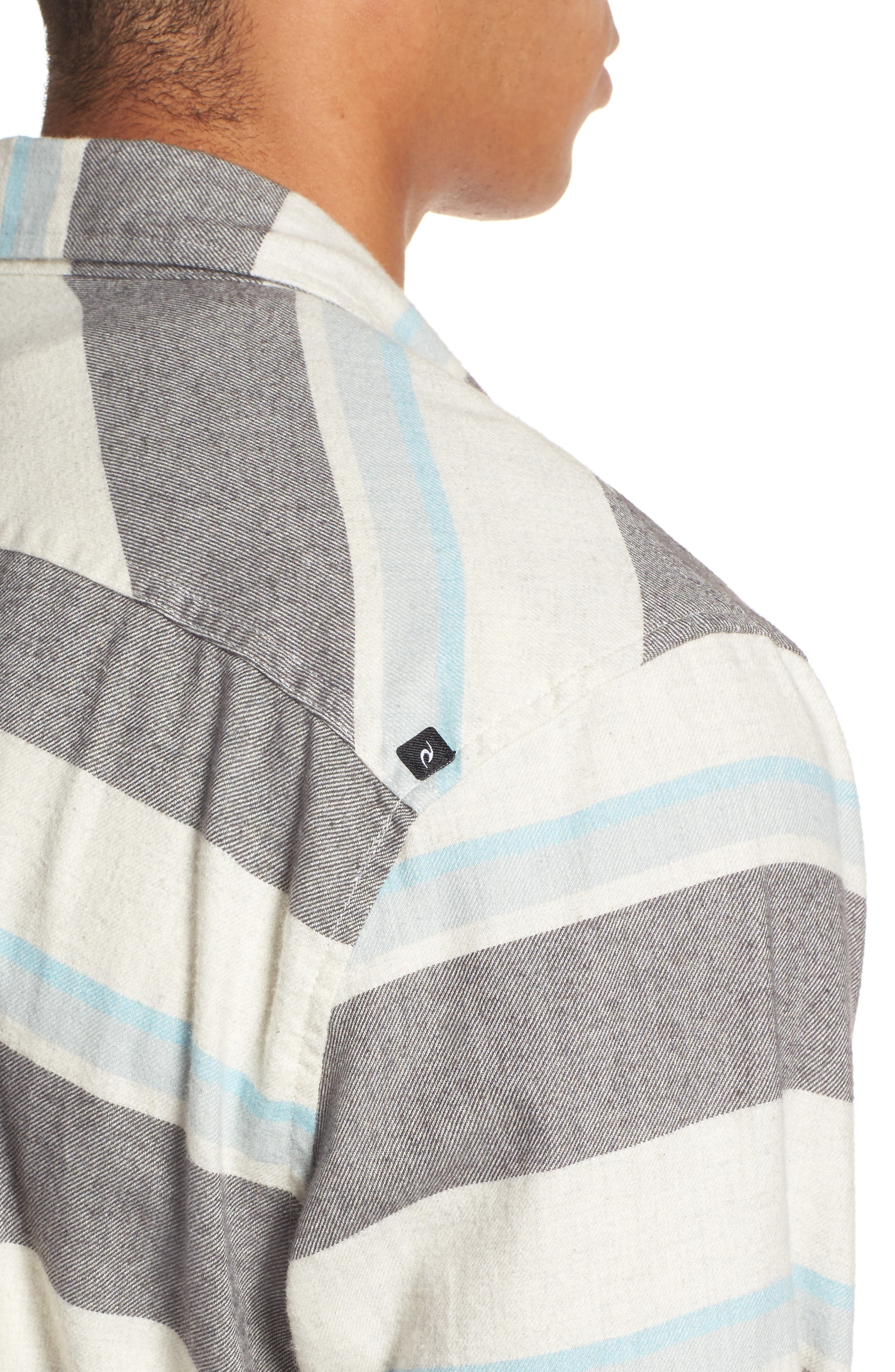 Seager Flannel Shirt,                             Alternate thumbnail 7, color,