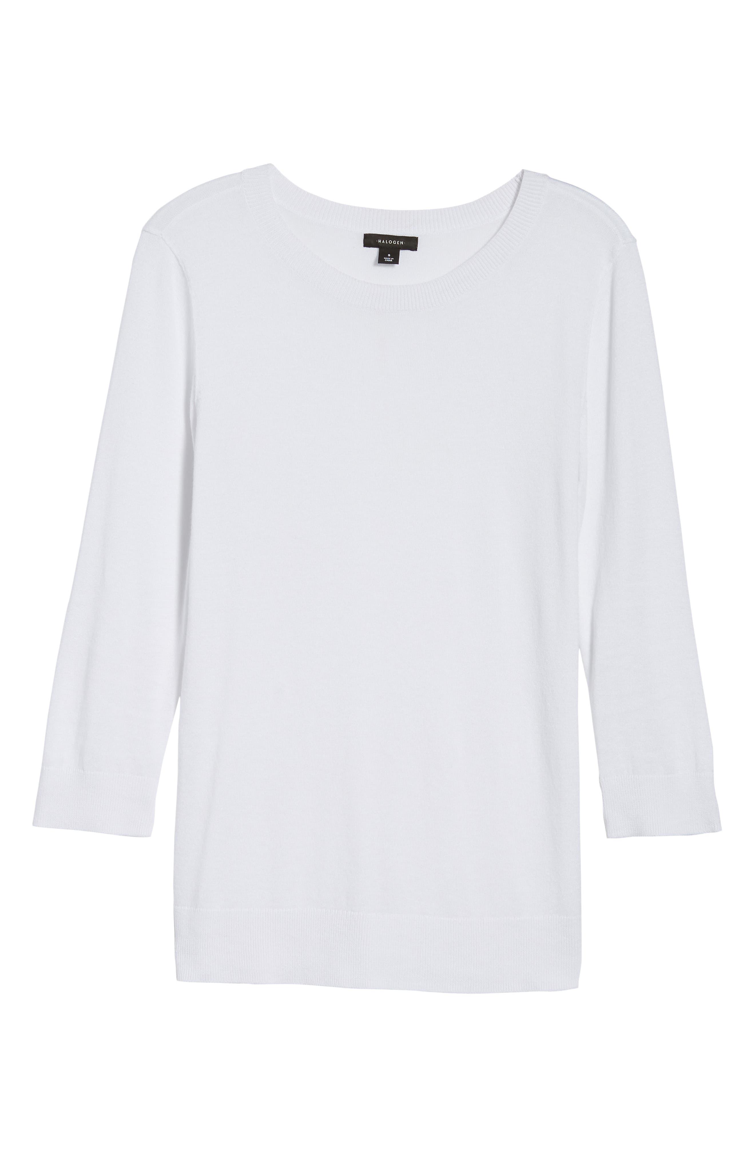 Cotton Blend Pullover,                             Alternate thumbnail 152, color,