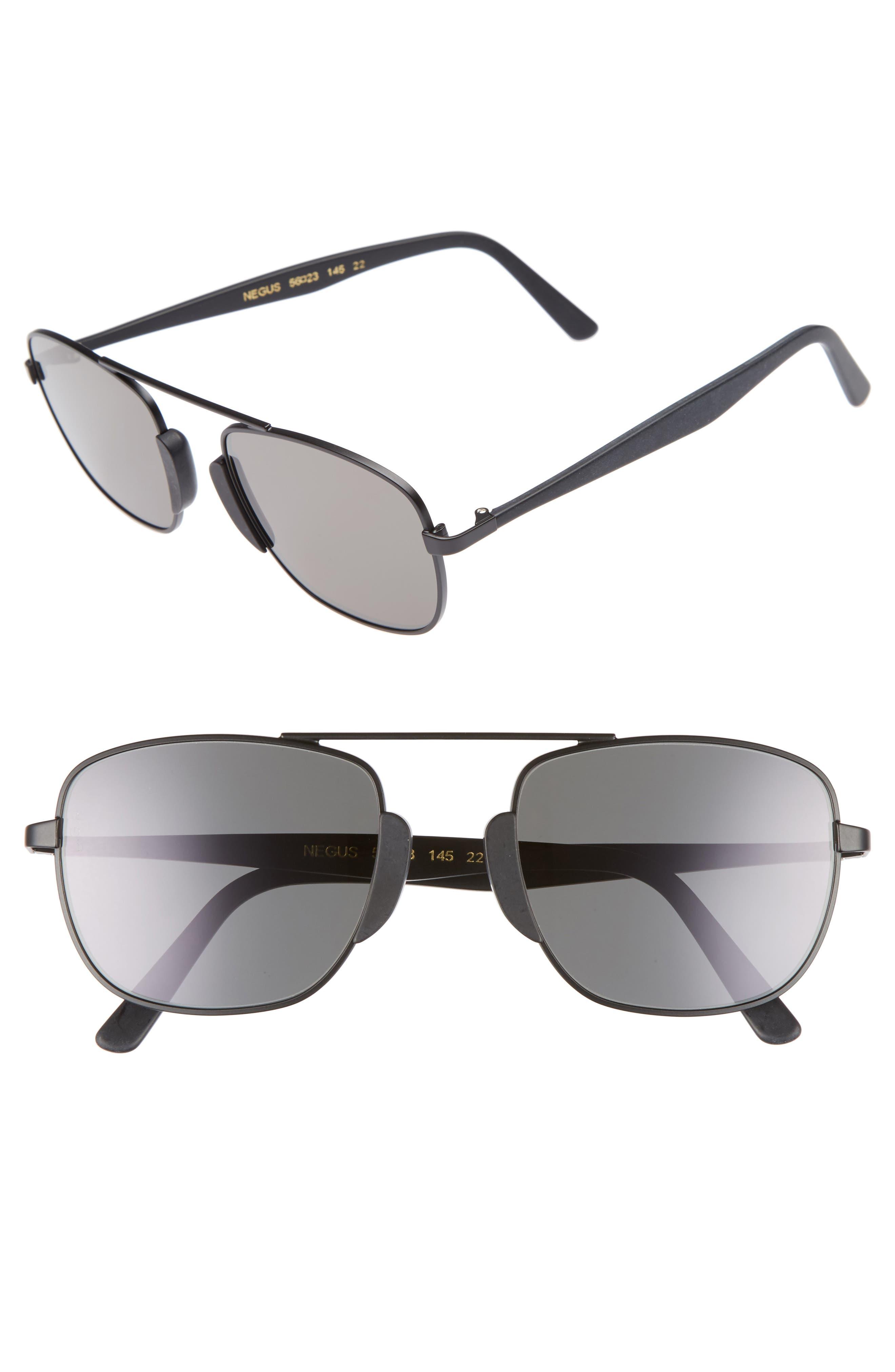 Negus 56mm Sunglasses,                             Main thumbnail 1, color,