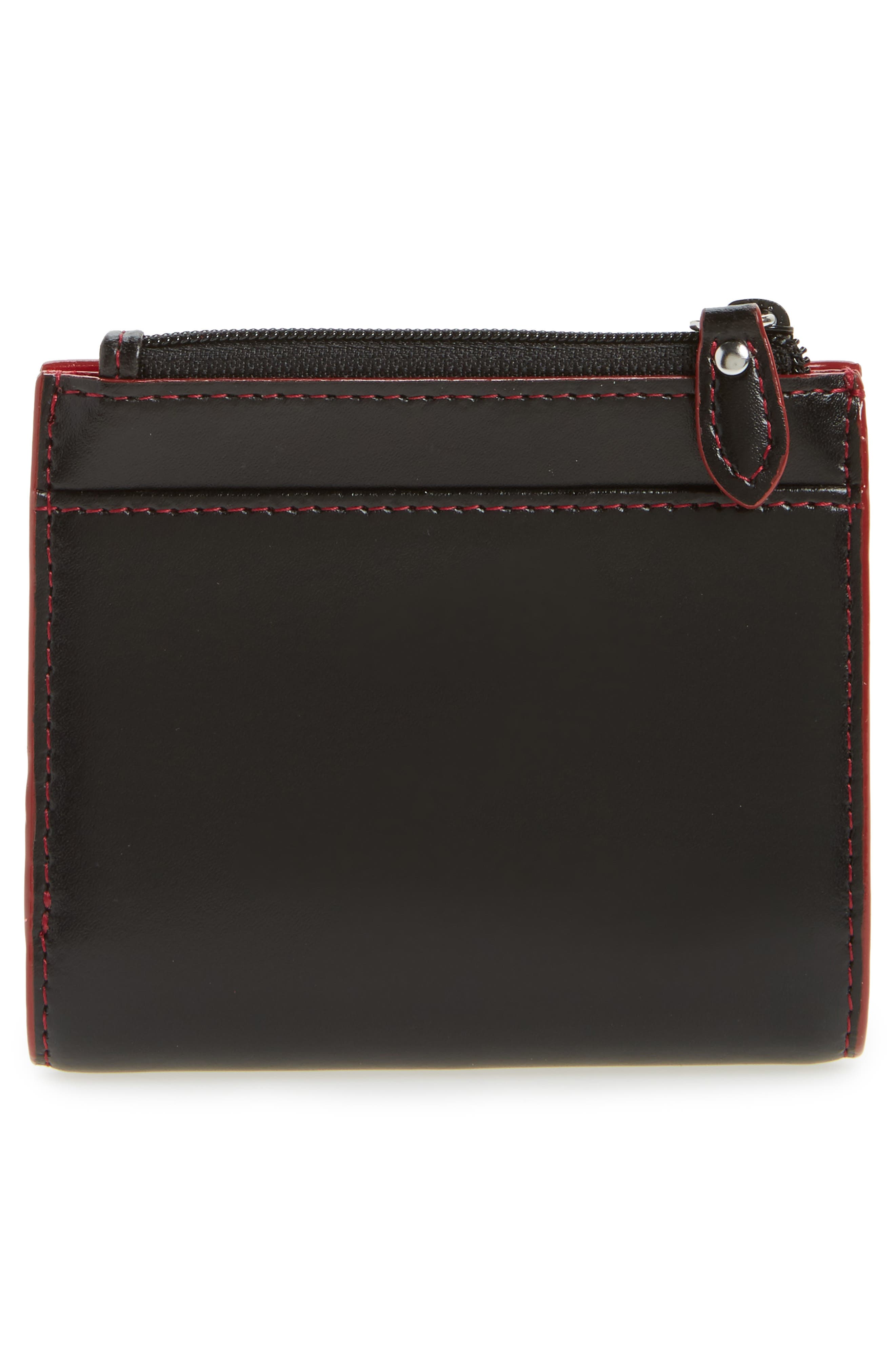 Audrey Under Lock & Key Aldis Leather Wallet,                             Alternate thumbnail 10, color,