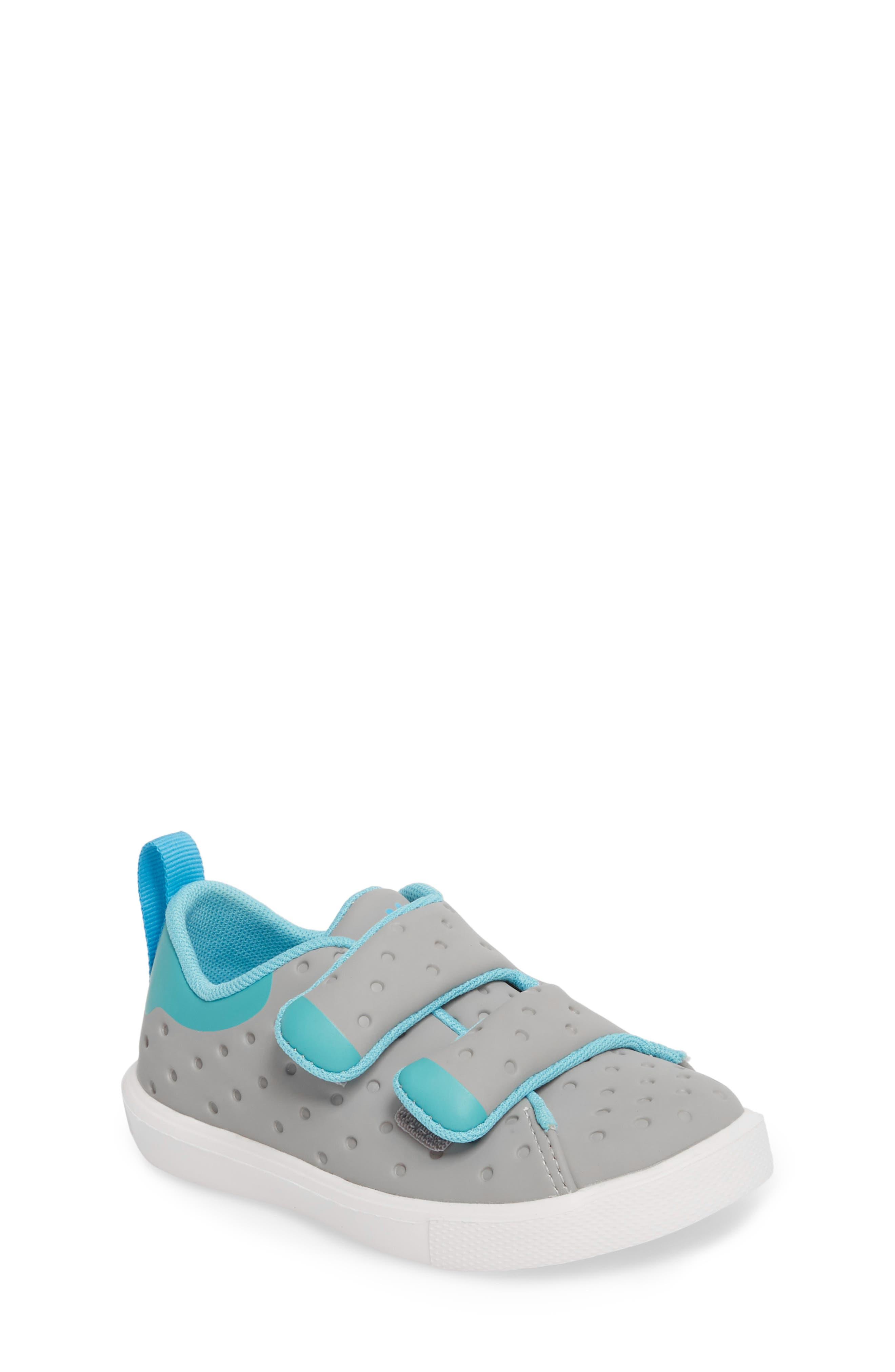 Monaco Sneaker,                         Main,                         color, PIGEON GREY/ POOL BOOL/ WHITE
