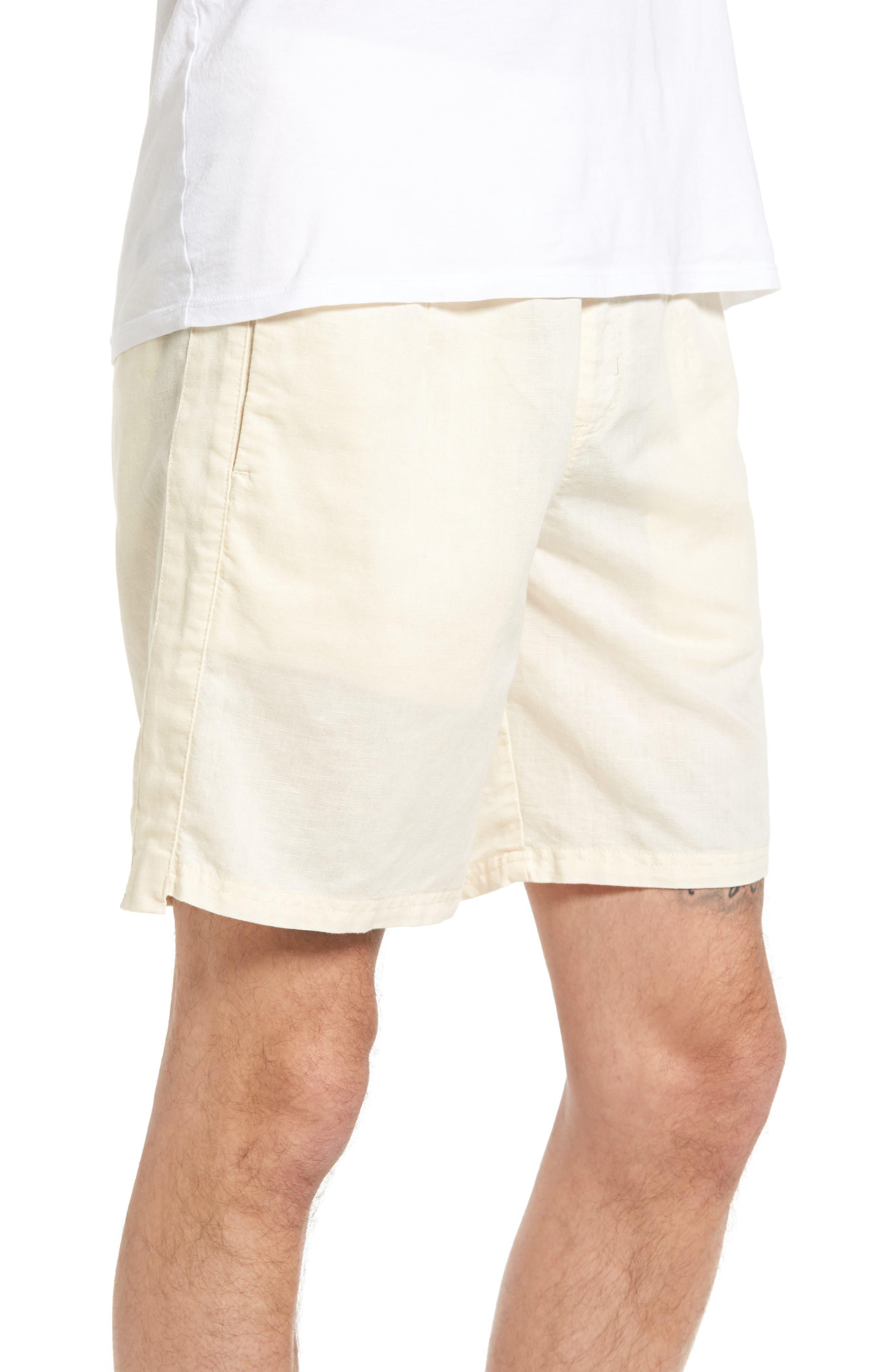 Omni Linen Blend Shorts,                             Alternate thumbnail 9, color,