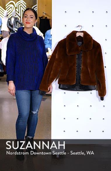 Faux Fur Jacket, sales video thumbnail