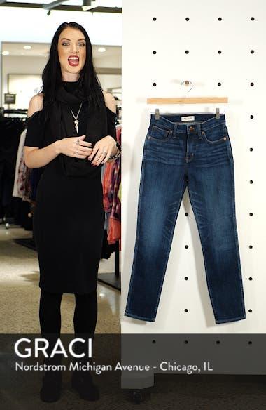 High Waist Slim Straight Leg Jeans, sales video thumbnail