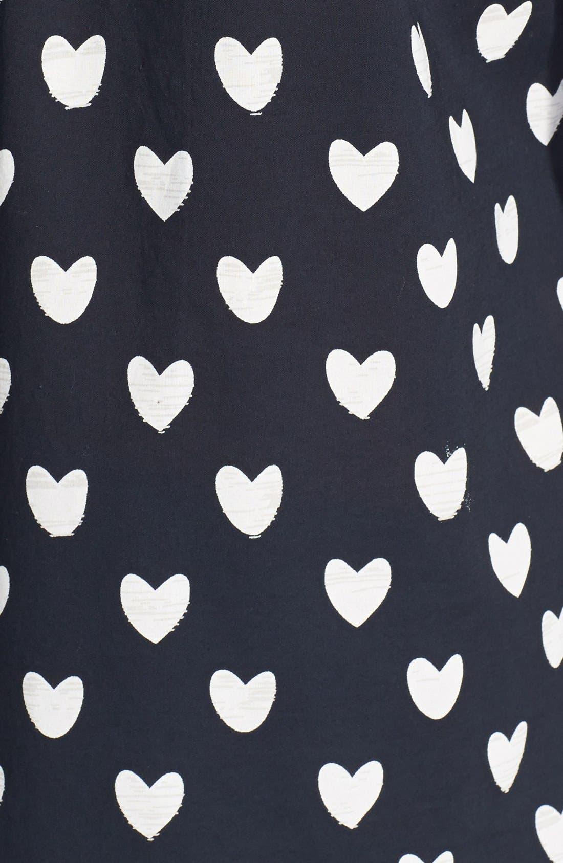 Long Sleeve Cotton Shirt,                             Alternate thumbnail 3, color,                             001