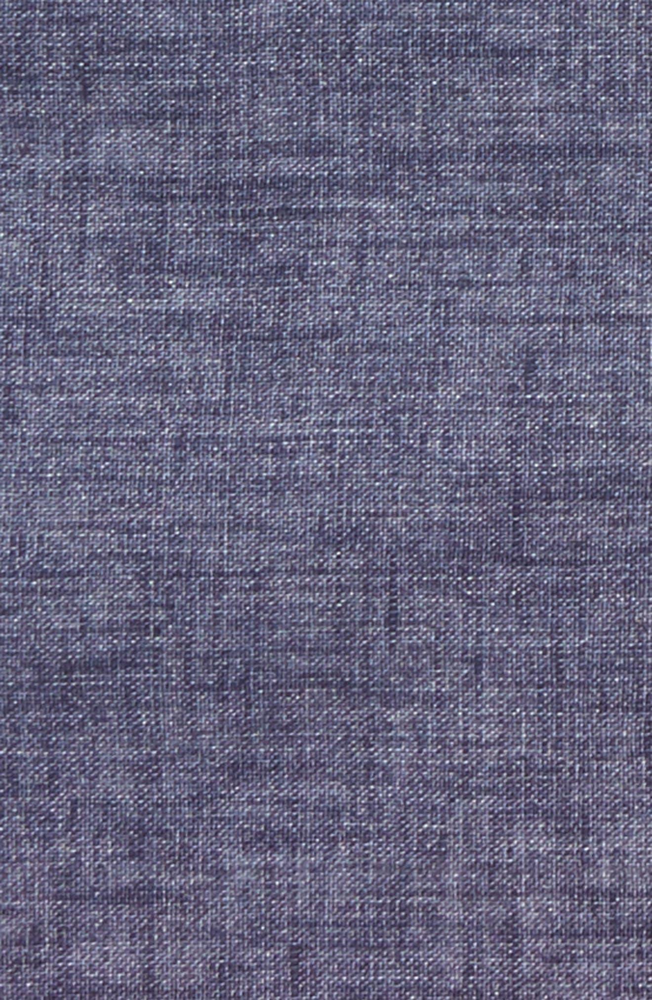 Solid Linen Pocket Square,                             Alternate thumbnail 3, color,                             020