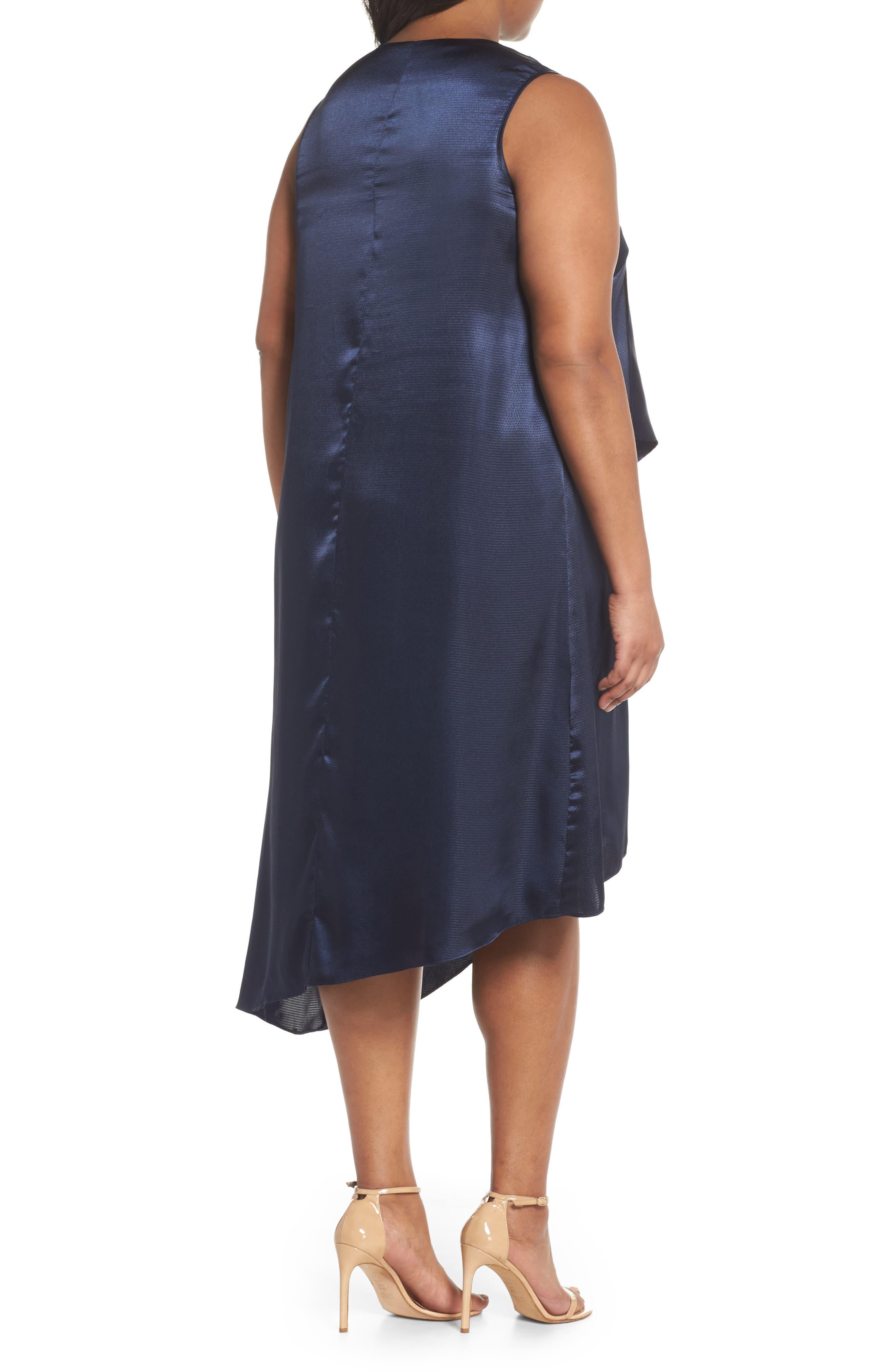 Asymmetrical Trapeze Dress,                             Alternate thumbnail 2, color,