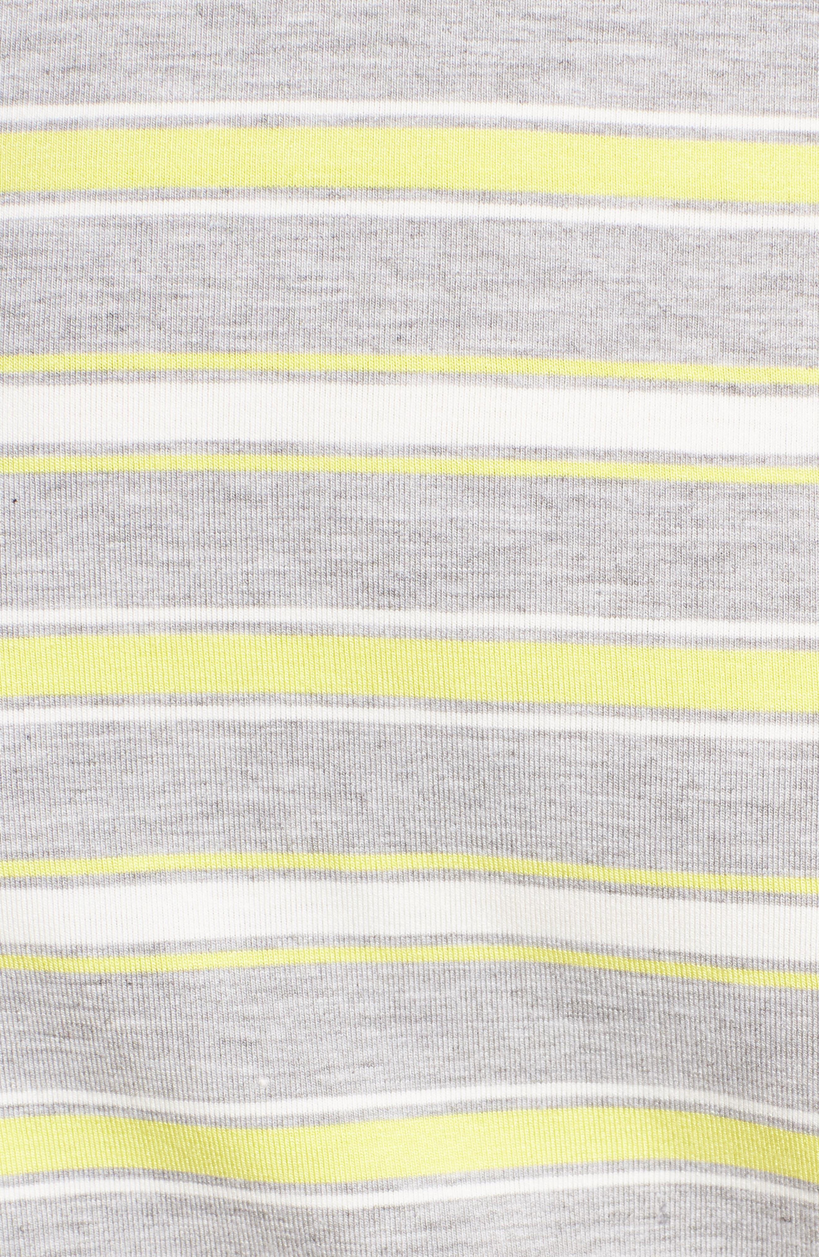 Stripe Crop Tee,                             Alternate thumbnail 13, color,
