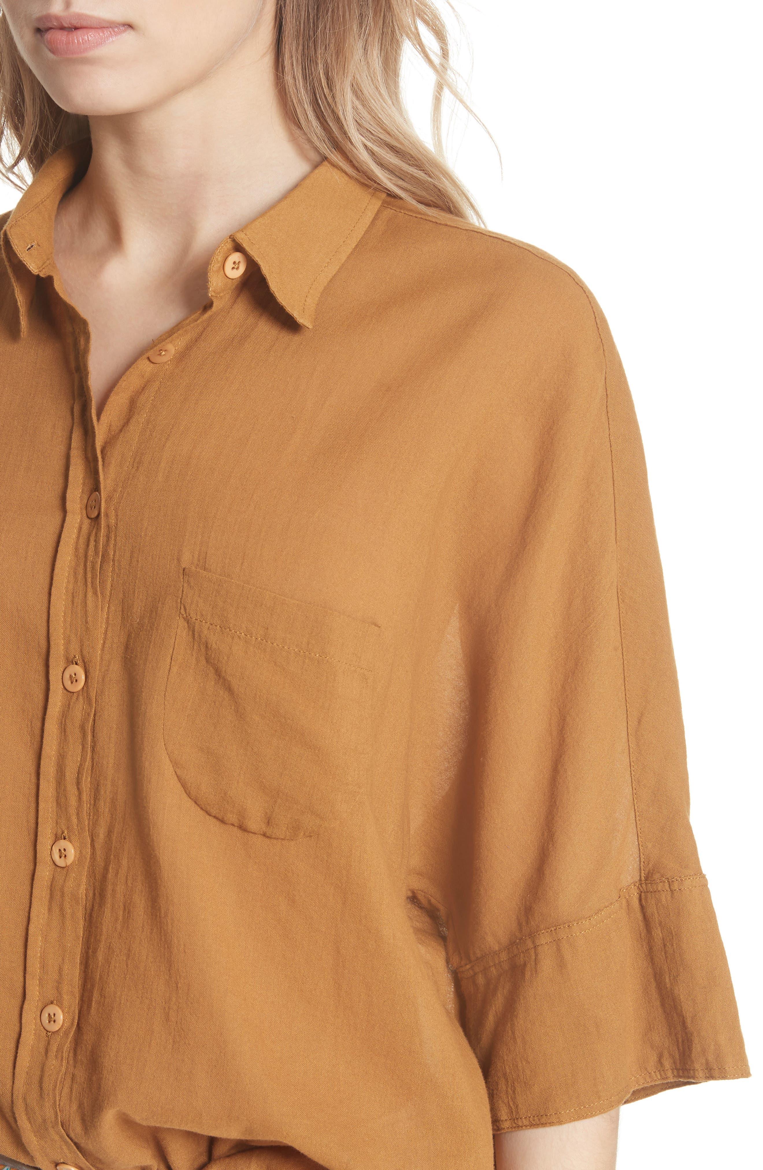 Best of Me Button Down Shirt,                             Alternate thumbnail 15, color,