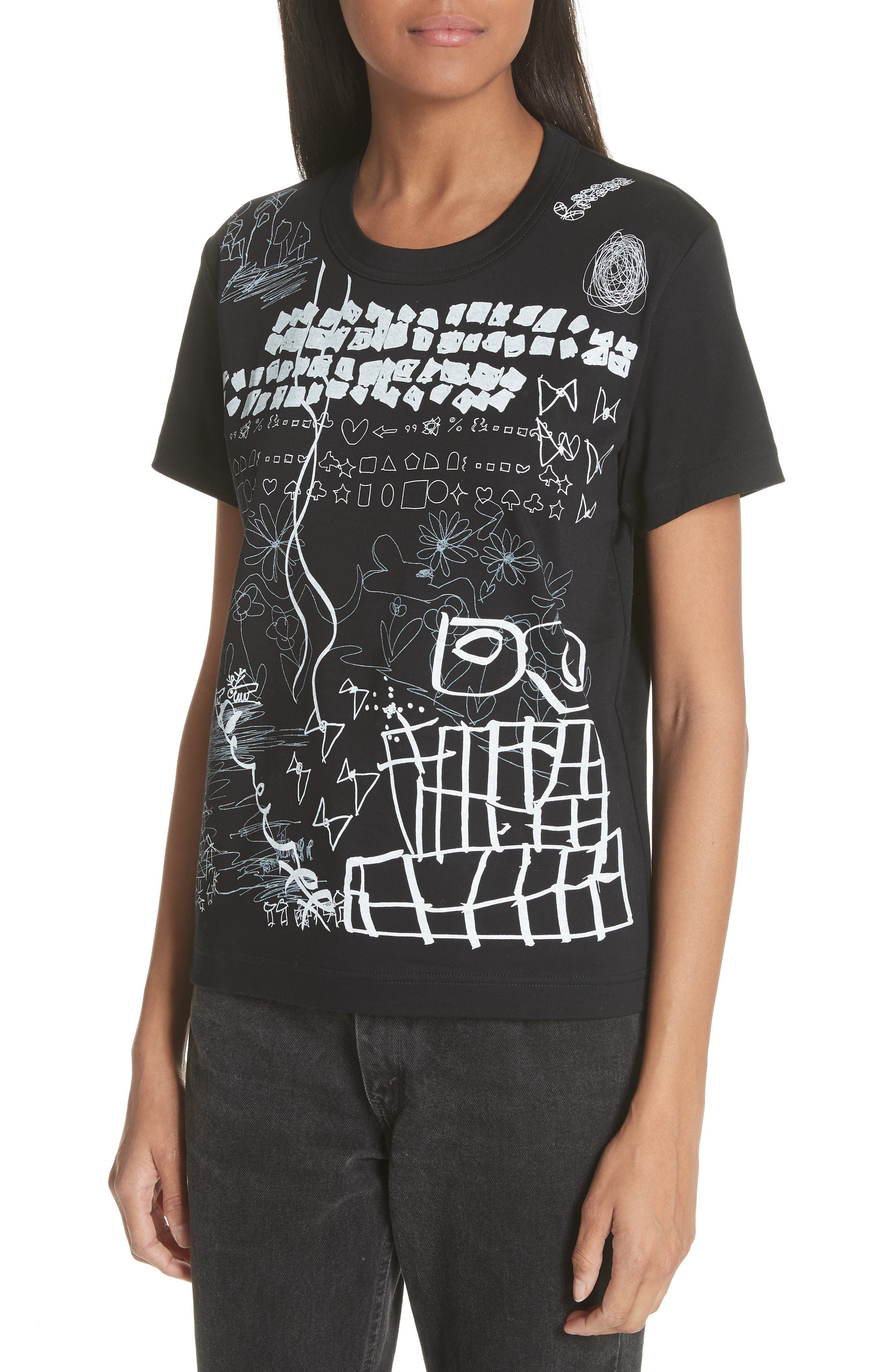 Graphic Tee,                             Alternate thumbnail 4, color,                             001