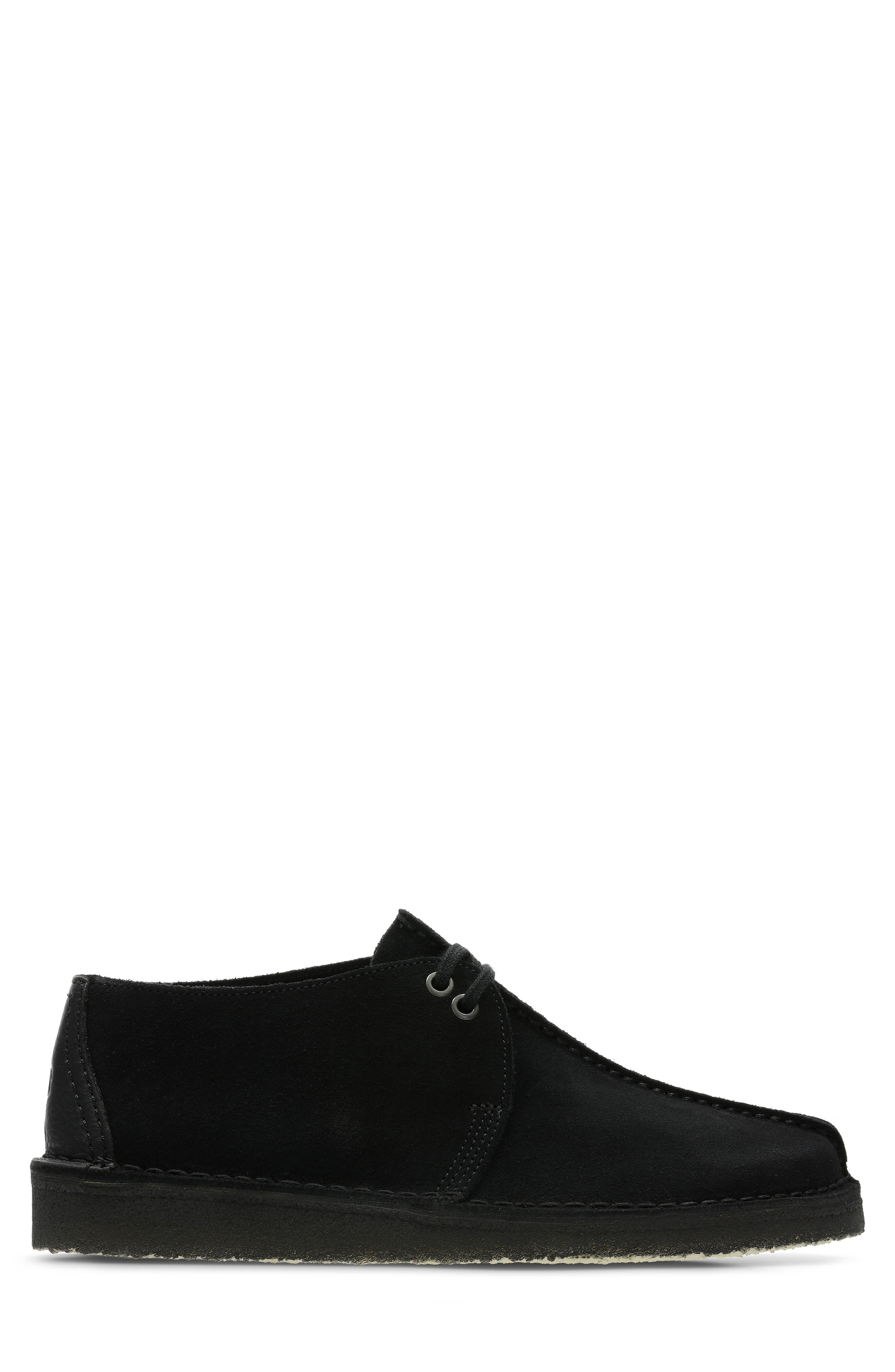 Originals 'Desert - Trek' Oxford,                             Alternate thumbnail 2, color,                             BLACK/BLACK SUEDE