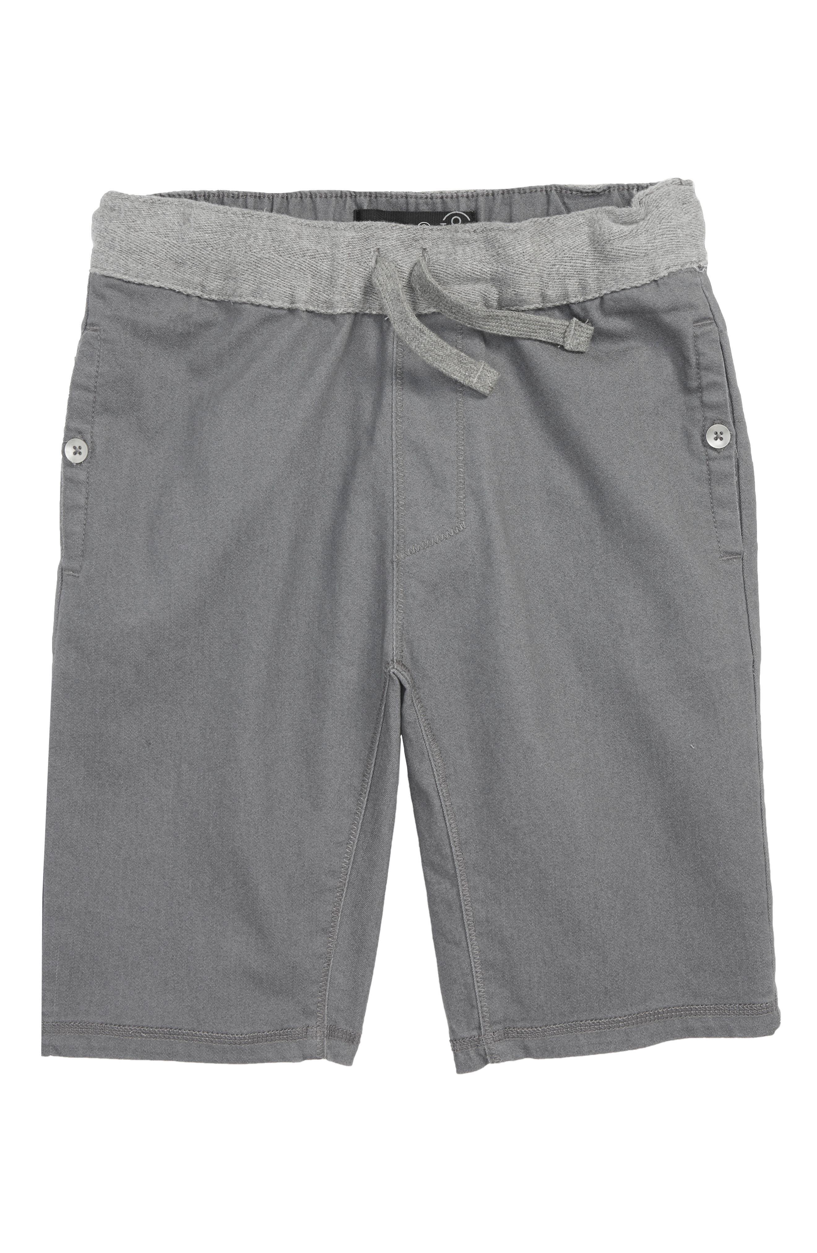 TREASURE & BOND Twill Shorts, Main, color, 021