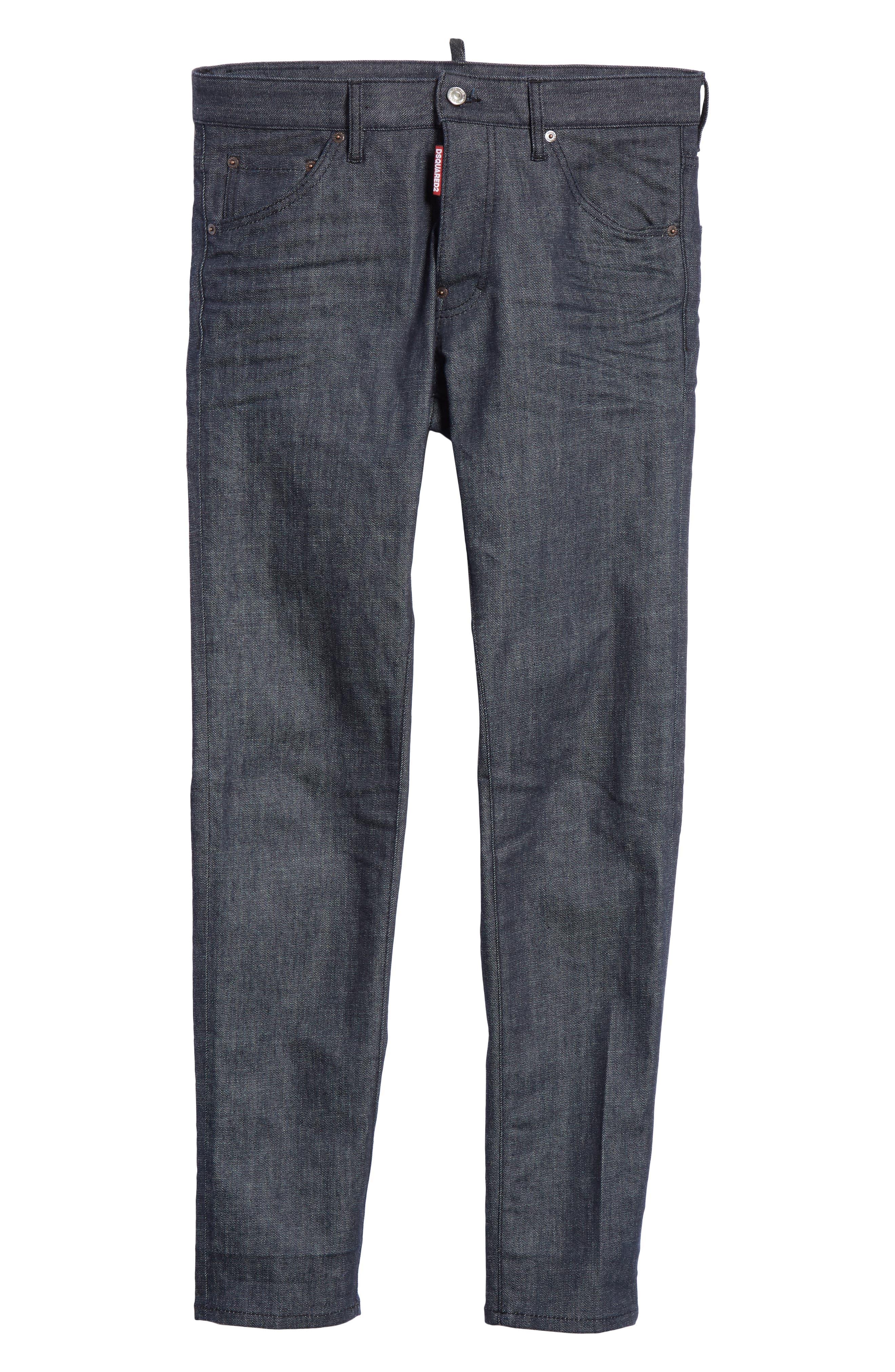 Cool Guy Jeans,                             Alternate thumbnail 6, color,                             DARK WASH