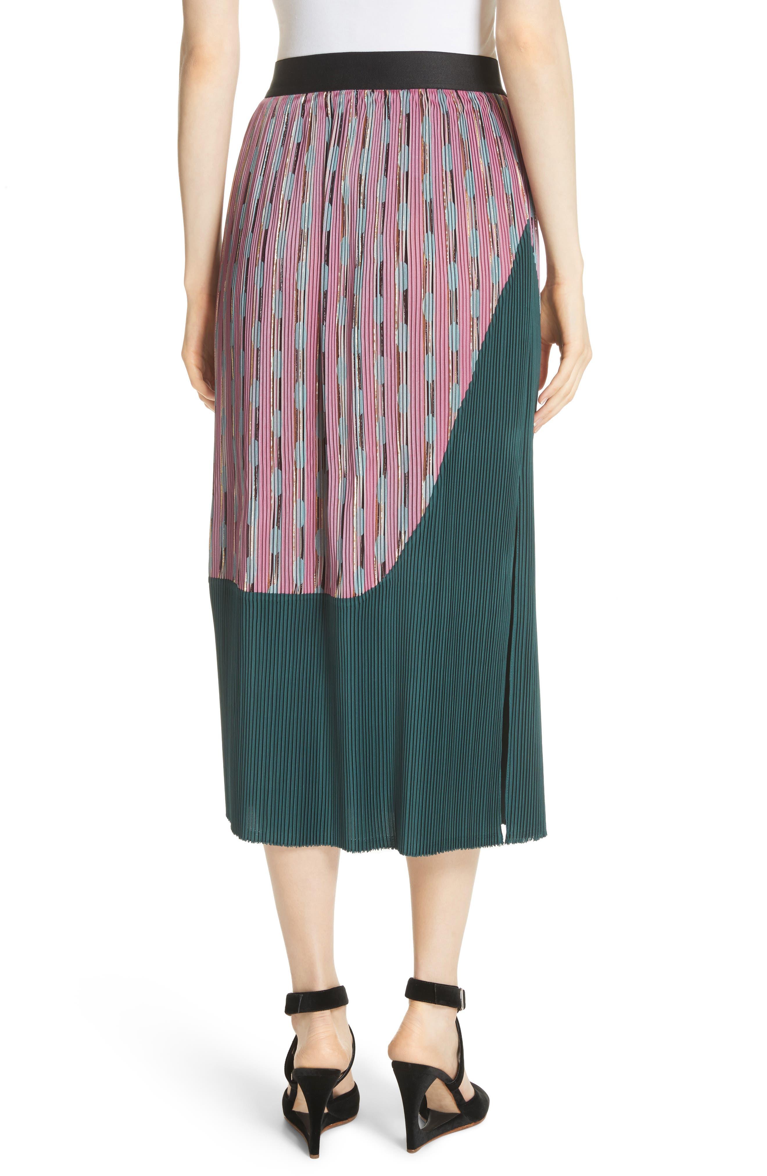 Ballista Midi Skirt,                             Alternate thumbnail 3, color,