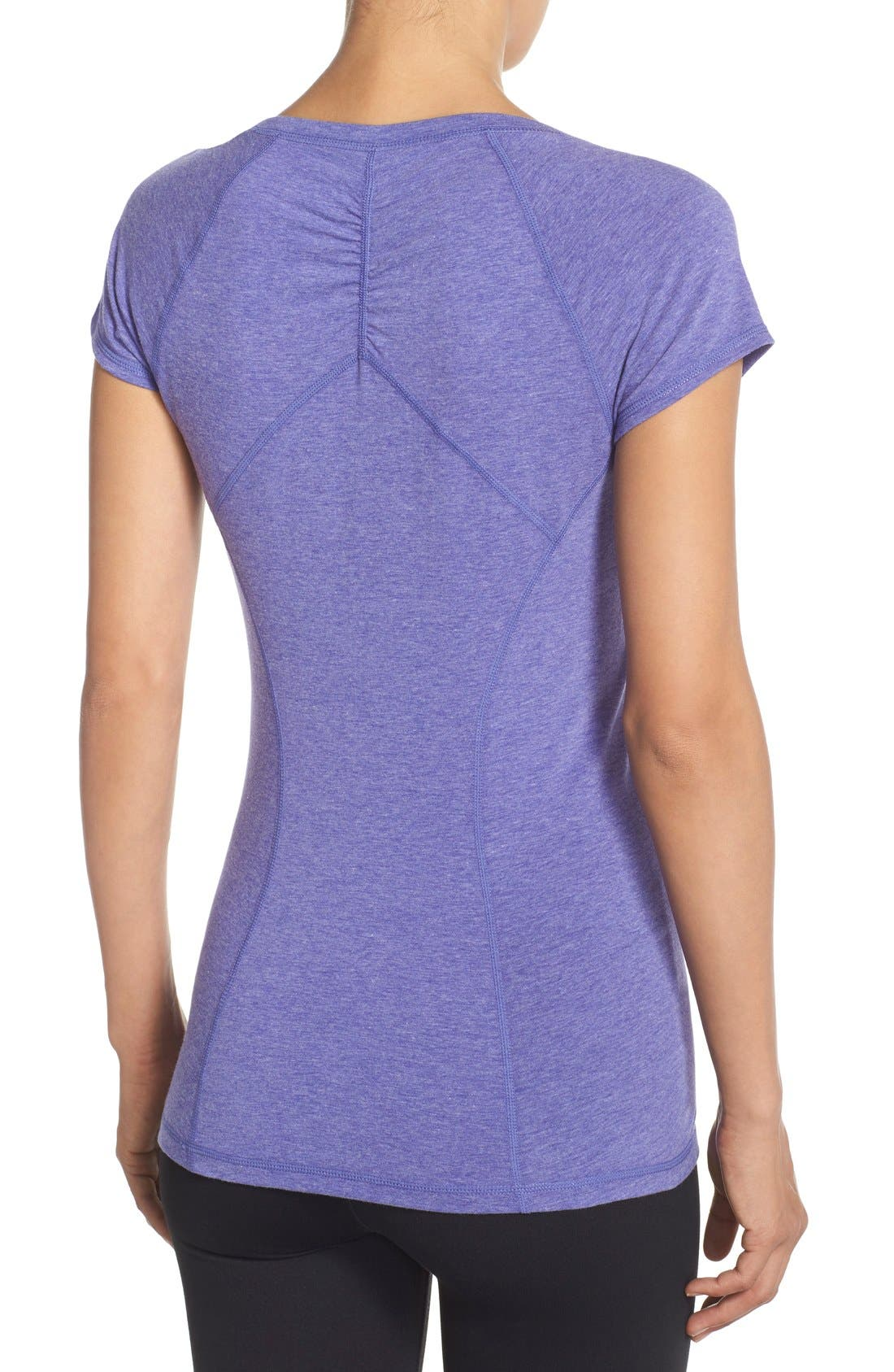 'Z 6' Ruched Tee,                             Alternate thumbnail 29, color,