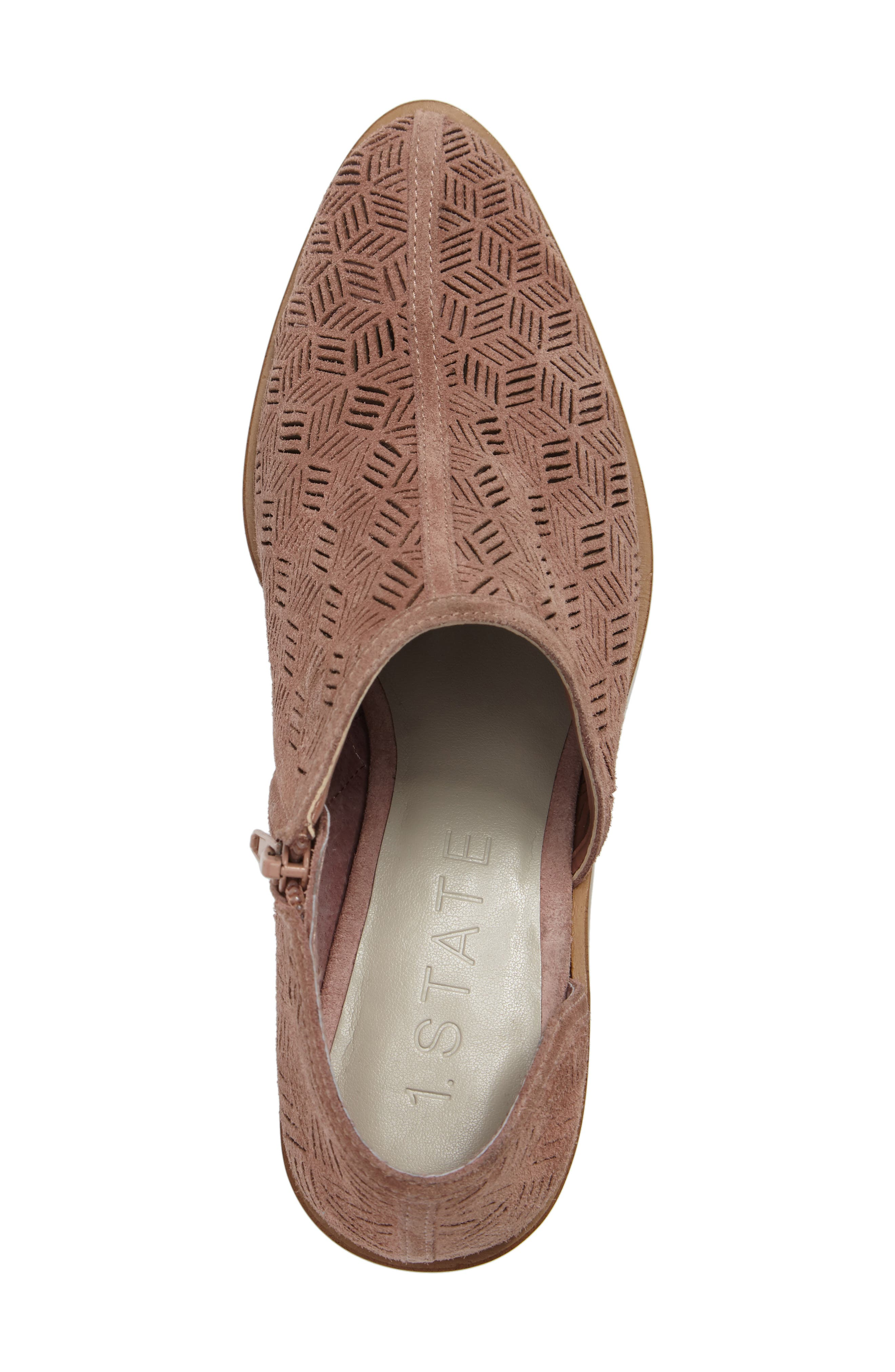 Iddah Perforated Cutaway Bootie,                             Alternate thumbnail 30, color,