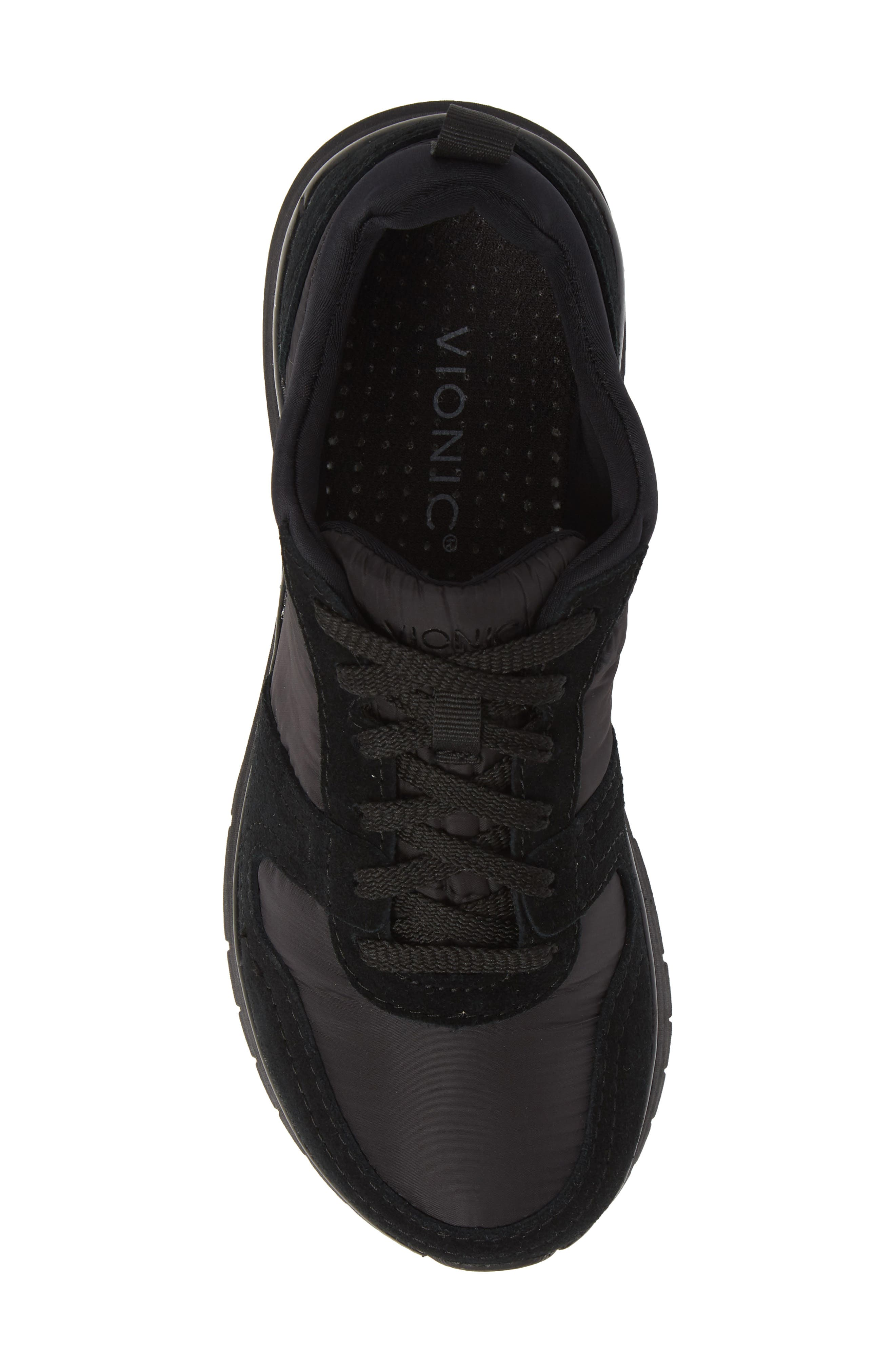 VIONIC,                             Emerson Low Top Sneaker,                             Alternate thumbnail 5, color,                             001