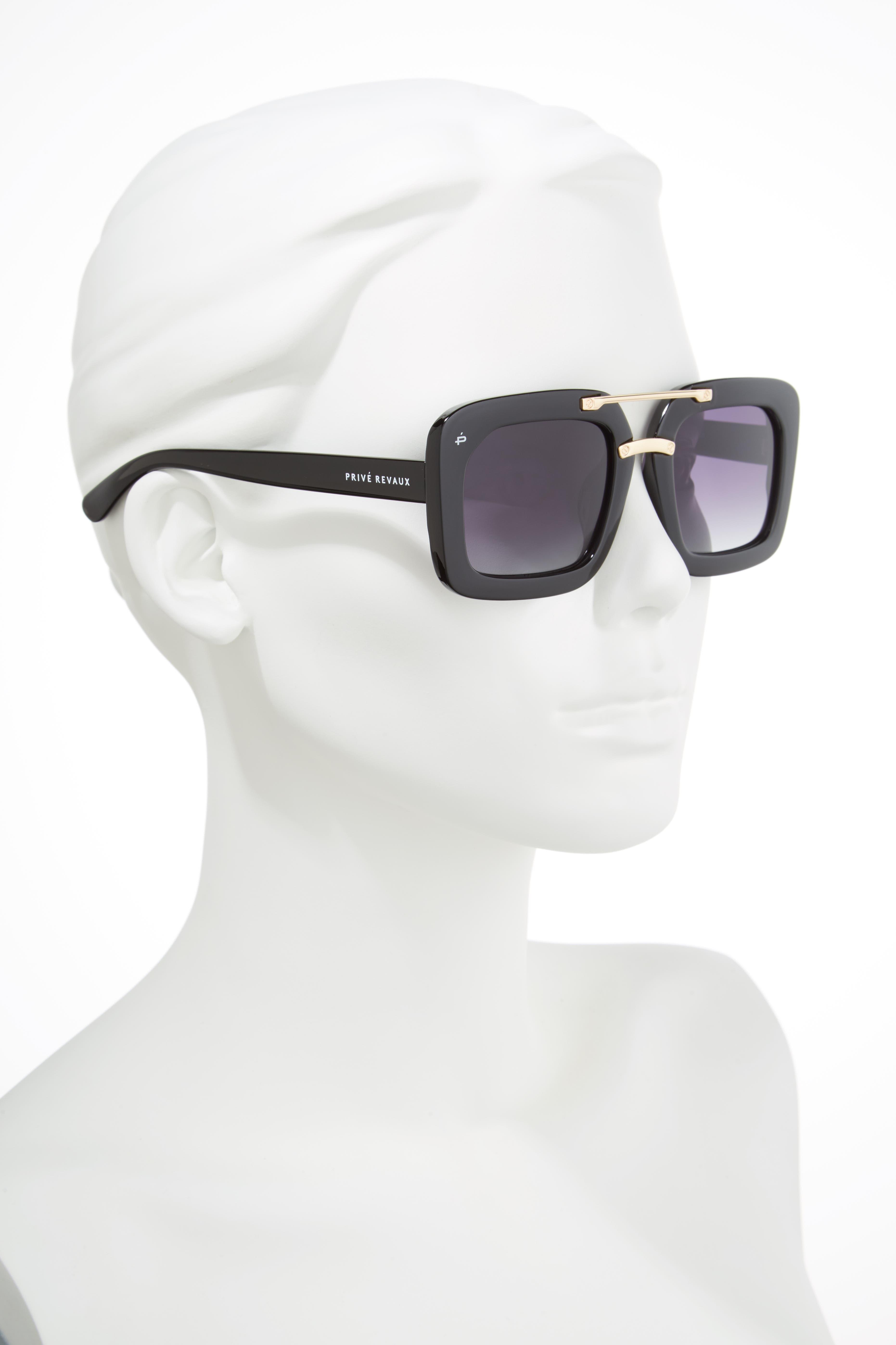 The Karl 50mm Square Aviator Sunglasses,                             Alternate thumbnail 2, color,                             001