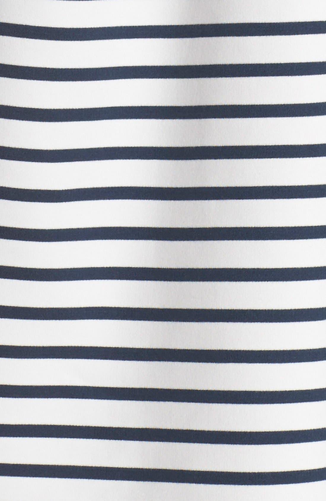 Ming Stripe Fit & Flare Dress,                             Alternate thumbnail 6, color,