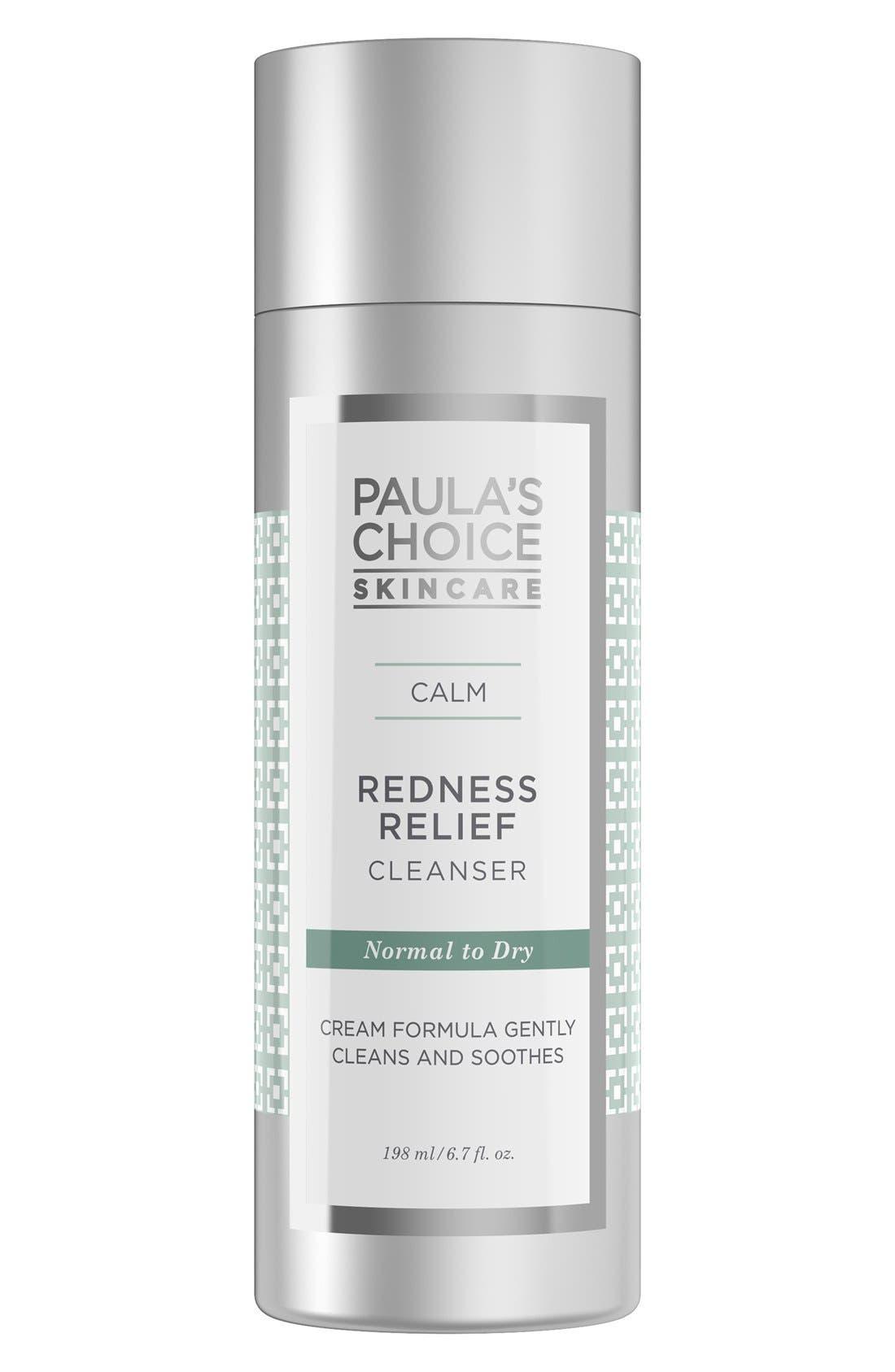 Calm Redness Relief Cleanser,                             Main thumbnail 1, color,                             NO COLOR