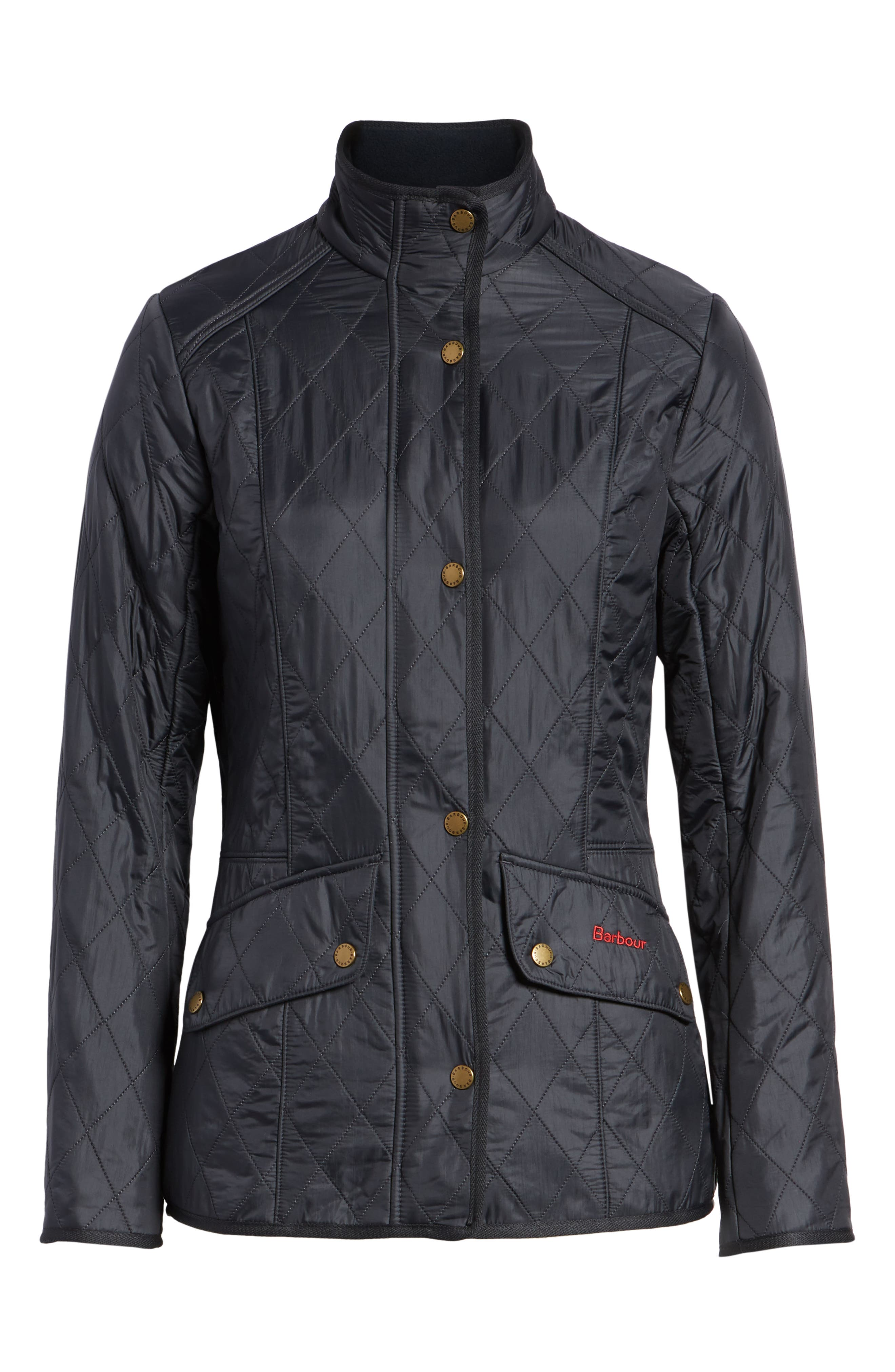 'Cavalry' Quilted Jacket,                             Alternate thumbnail 56, color,