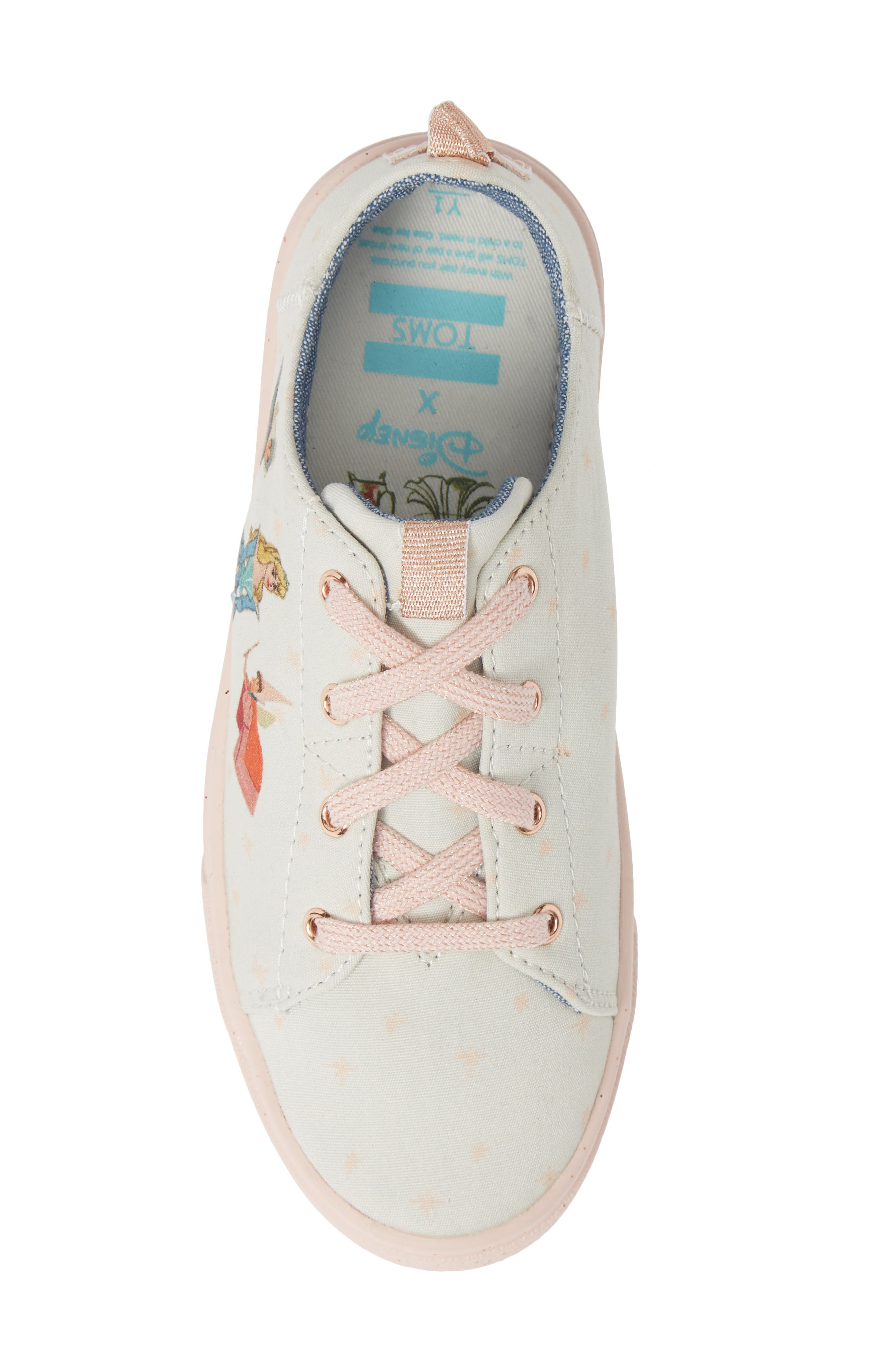 x Disney Lenny Low Top Sneaker,                             Alternate thumbnail 5, color,                             FAIRY GODMOTHER