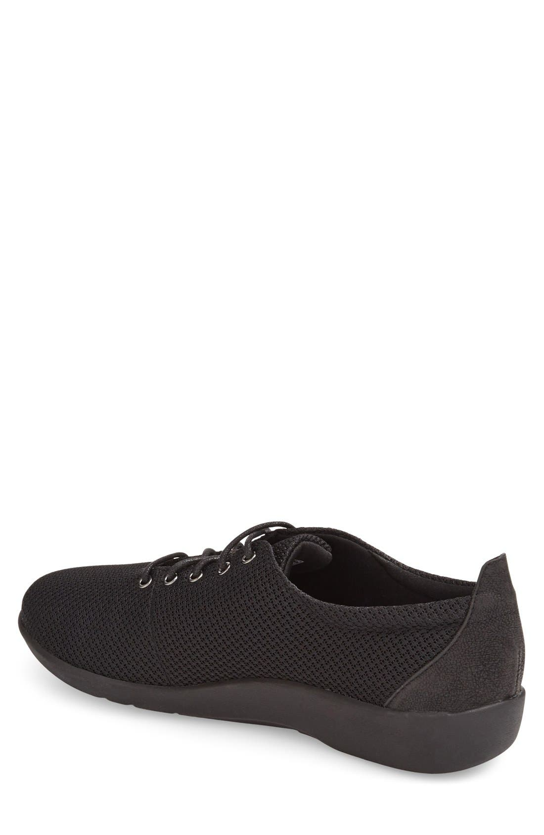 Clarks<sup>®</sup> 'Sillian - Tino' Sneaker,                             Alternate thumbnail 3, color,                             001
